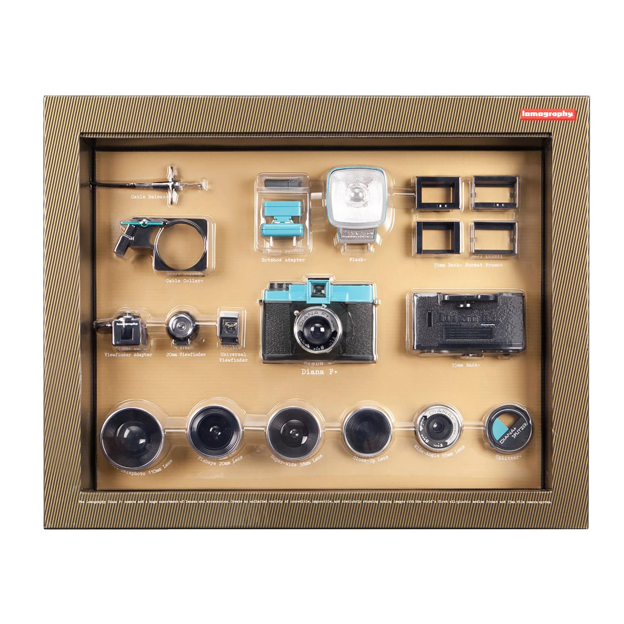 Lomography Diana F+ Deluxe Pack