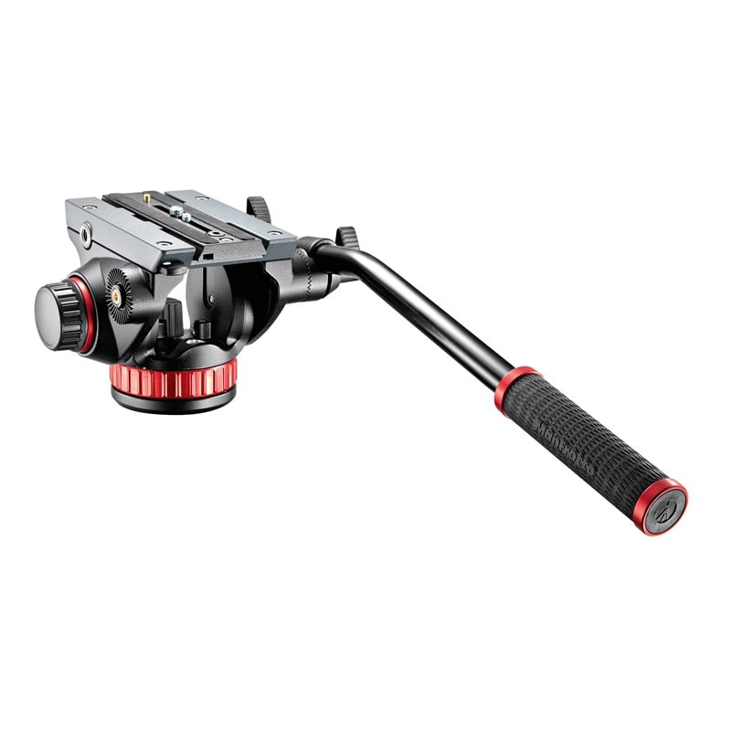 Manfrotto MVH502AH Pro video head flat base