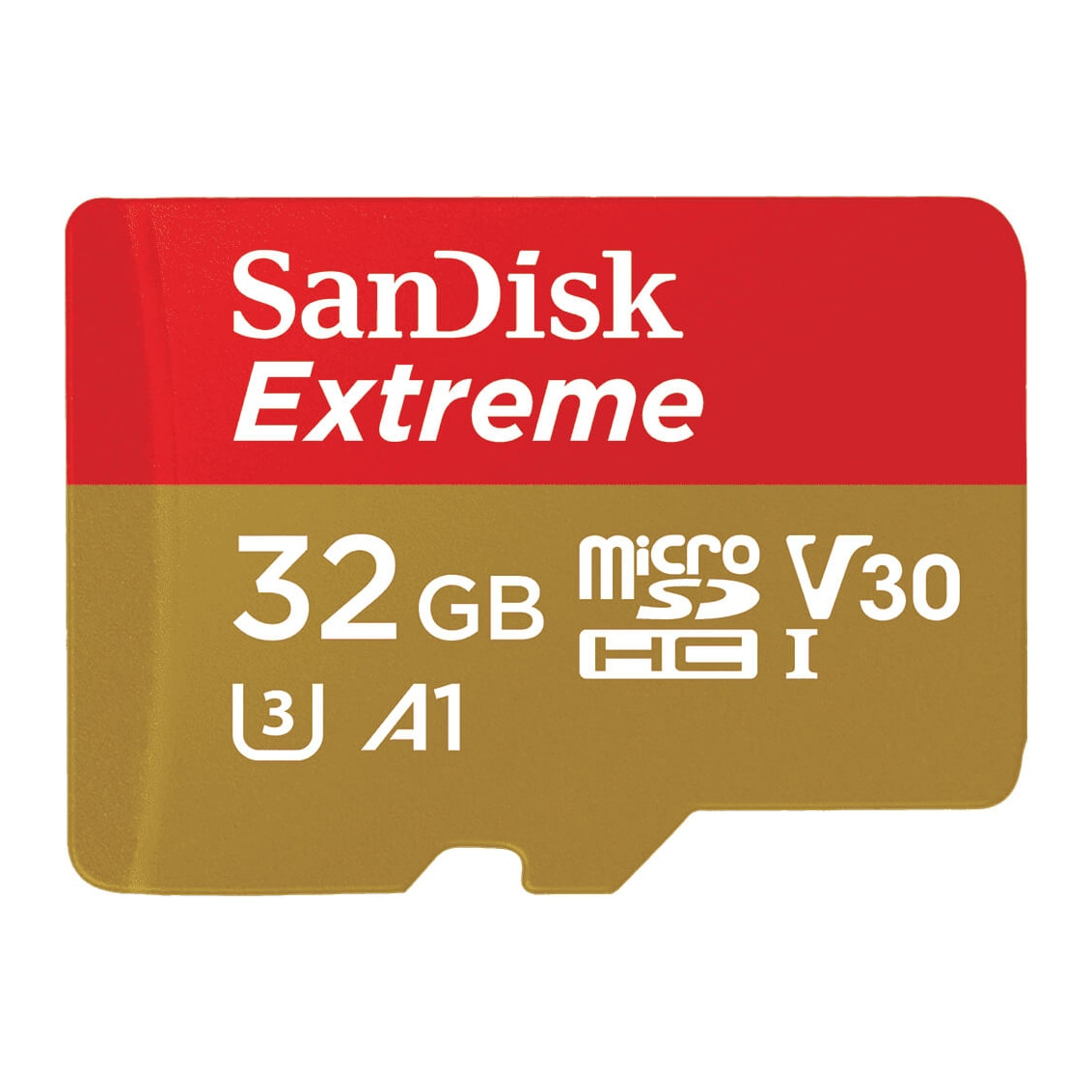 SanDisk MicroSDHC Extreme 32GB + Adapter 100MB/s UHS-I