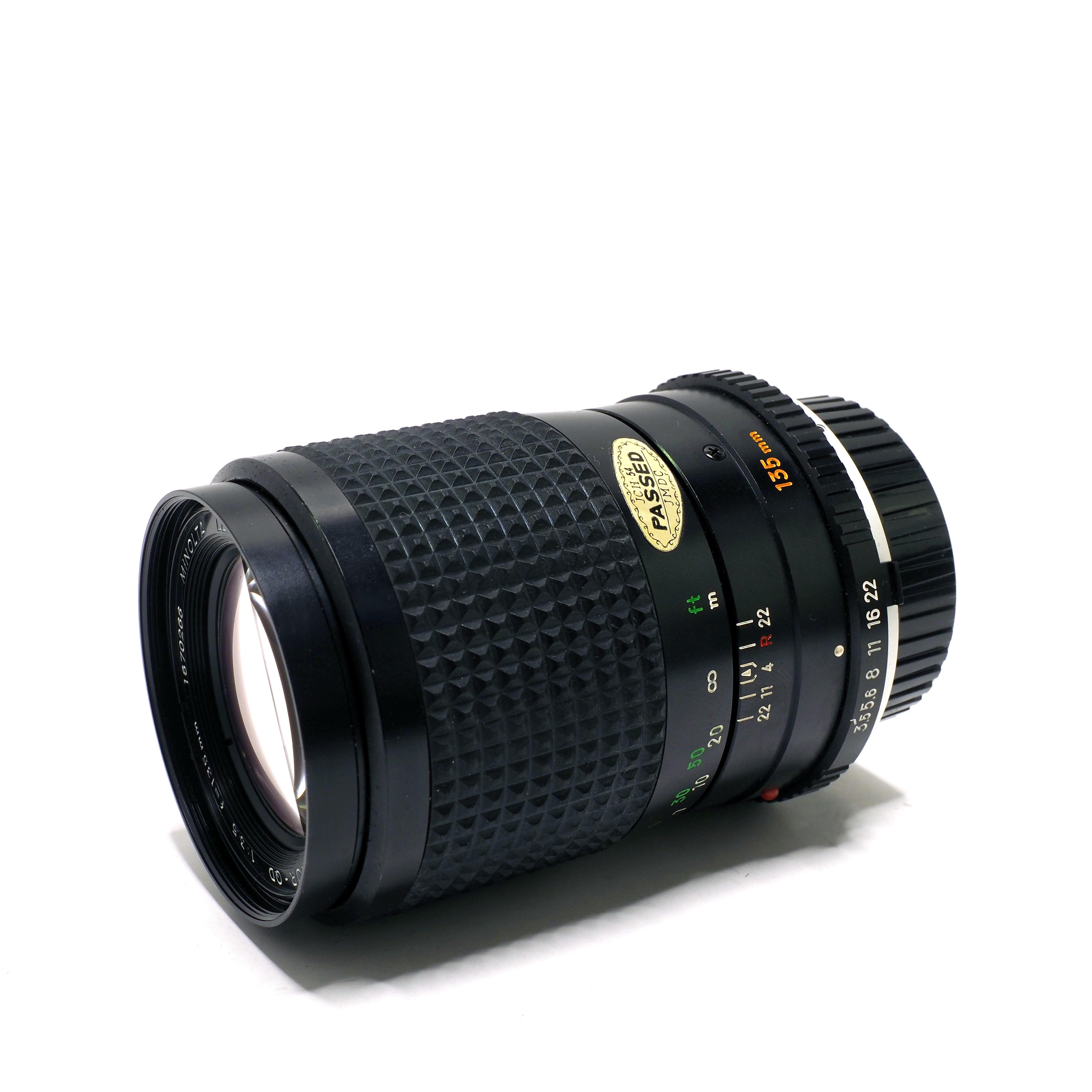 Minolta 135mm f/3,5 - BEGAGNAT