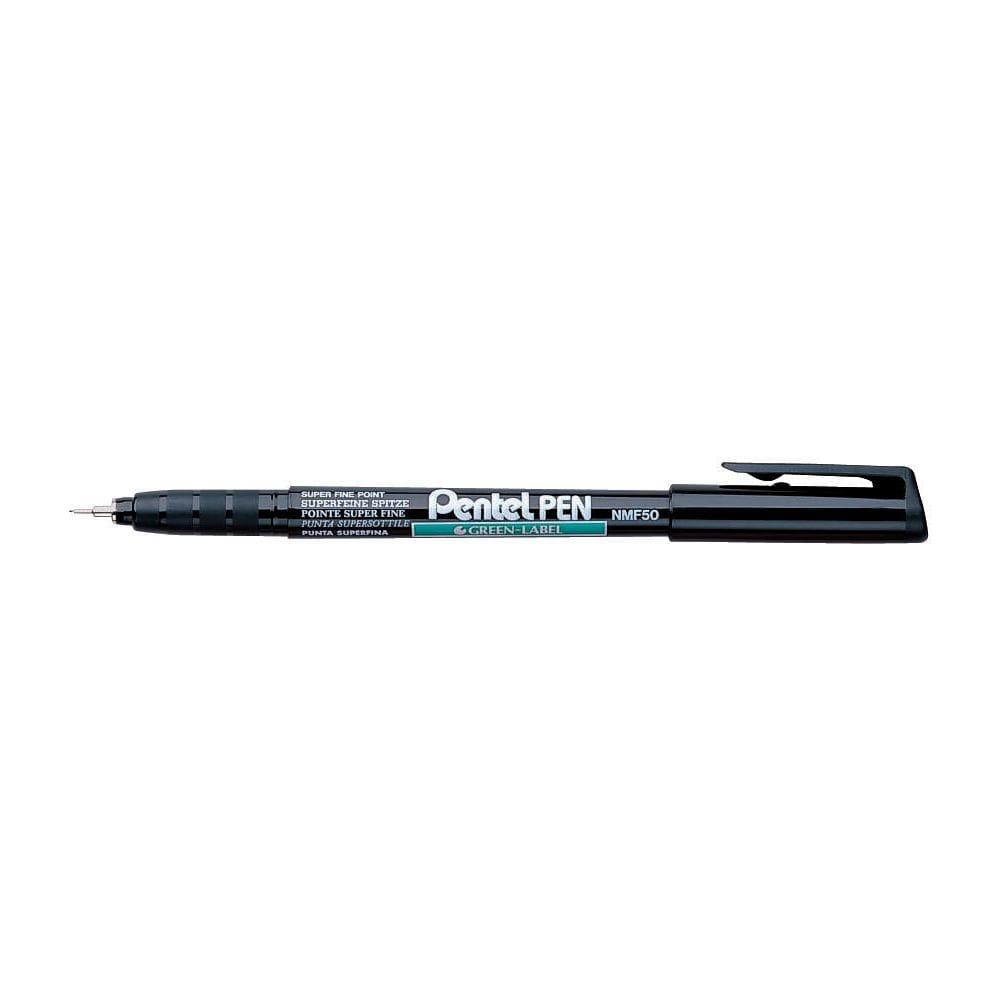 Pentel NMF50 Permanent Penna Svart Ultrafine