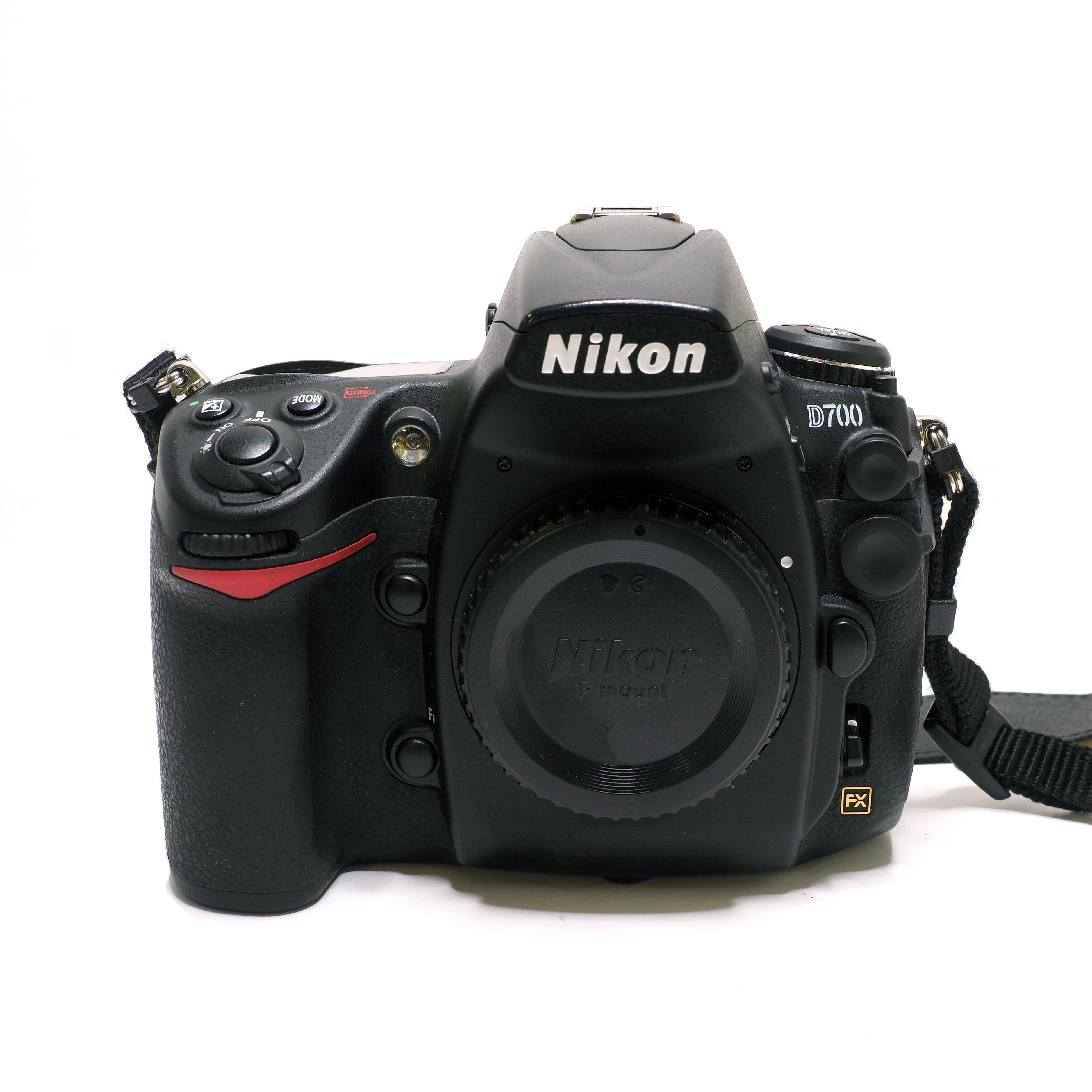Nikon D700 kamerahus - BEGAGNAT