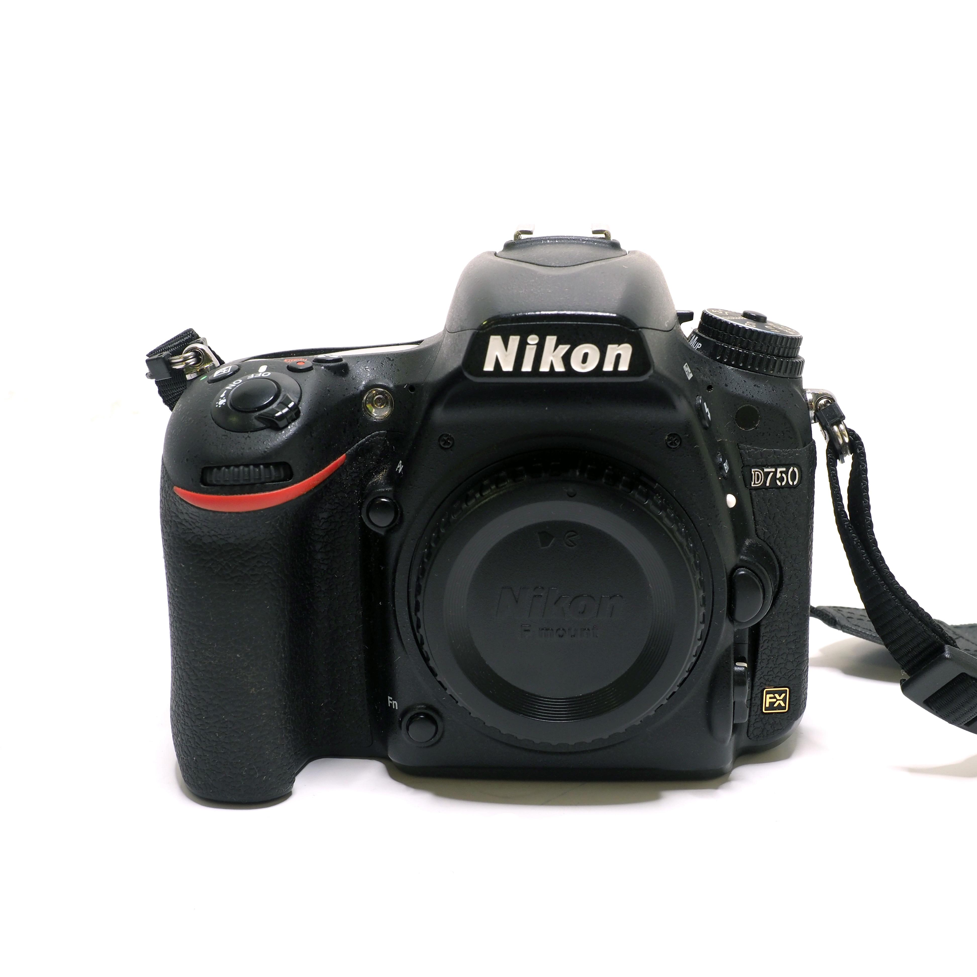 Nikon D750 kamerahus - BEGAGNAT
