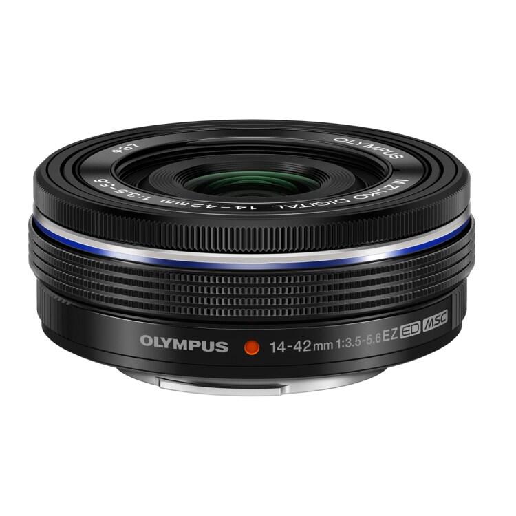 Olympus EZ ED MSC 14-42mm f/3,5-5,6 Svart - BULK