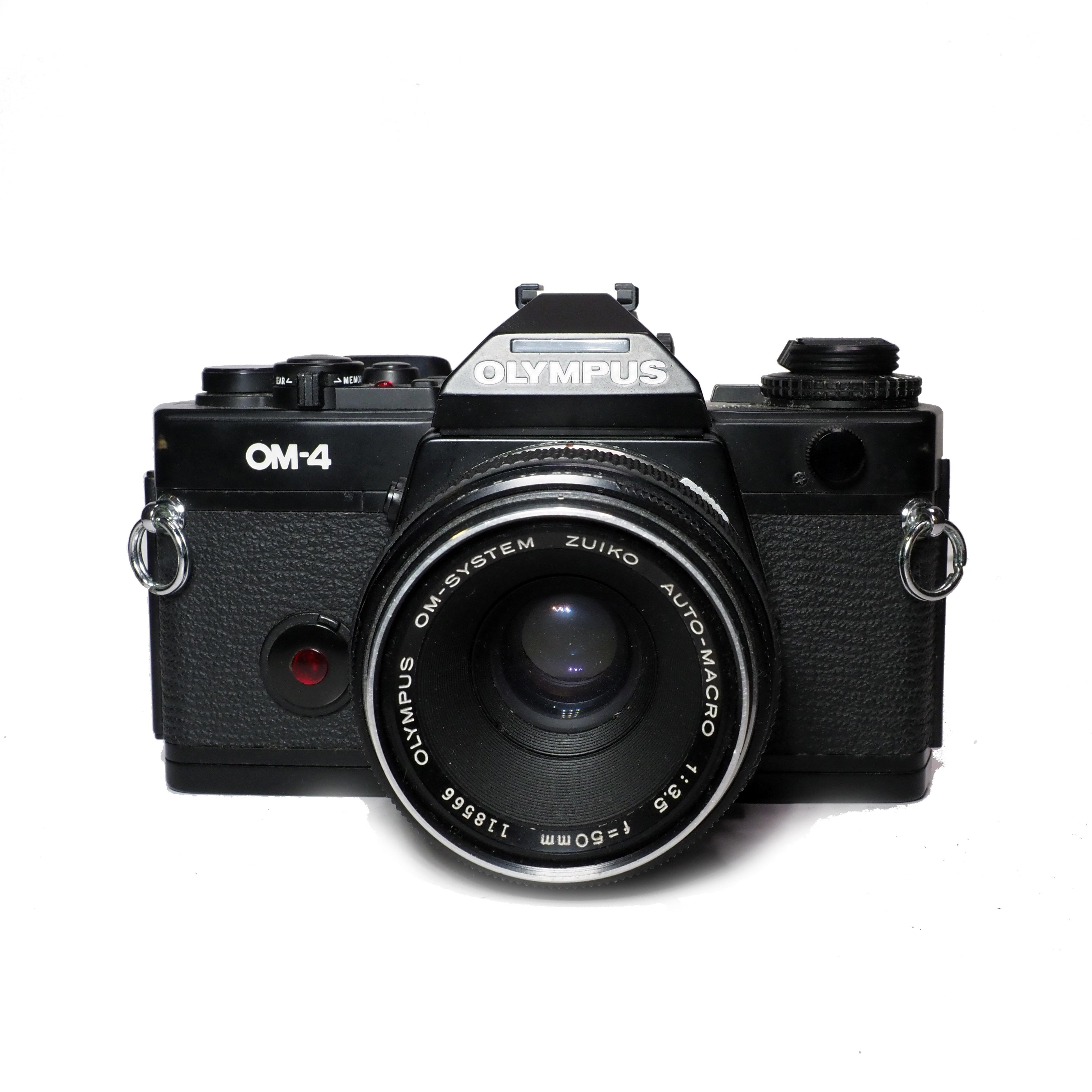 Olympus OM-4 inkl. Macro 50mm f/3,5 - BEGAGNAT