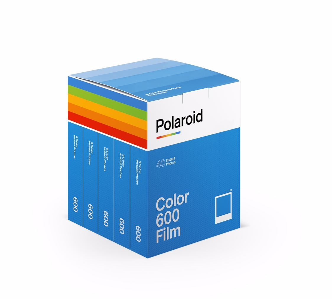 Polaroid 600 Color Film 5-pack