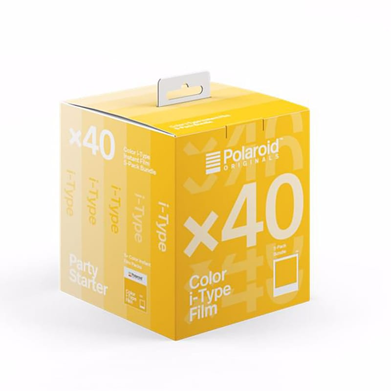 Polaroid I-Type Färg 40-Pack