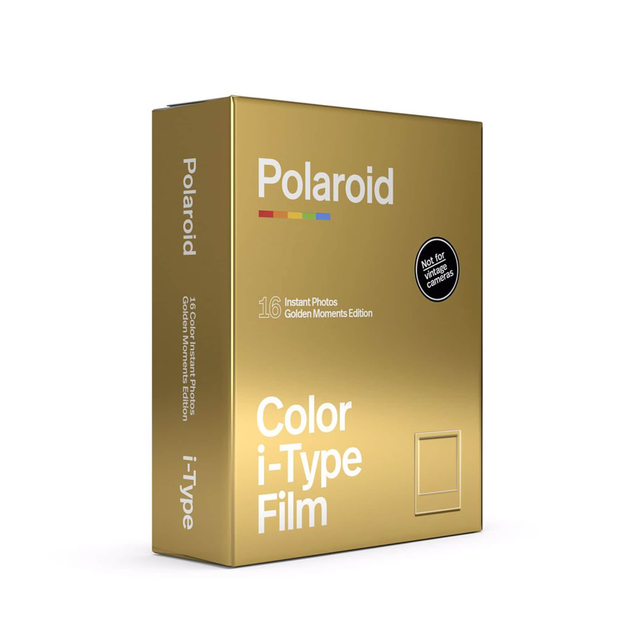 Polaroid I-Type Färg Golden Moments 2-Pack
