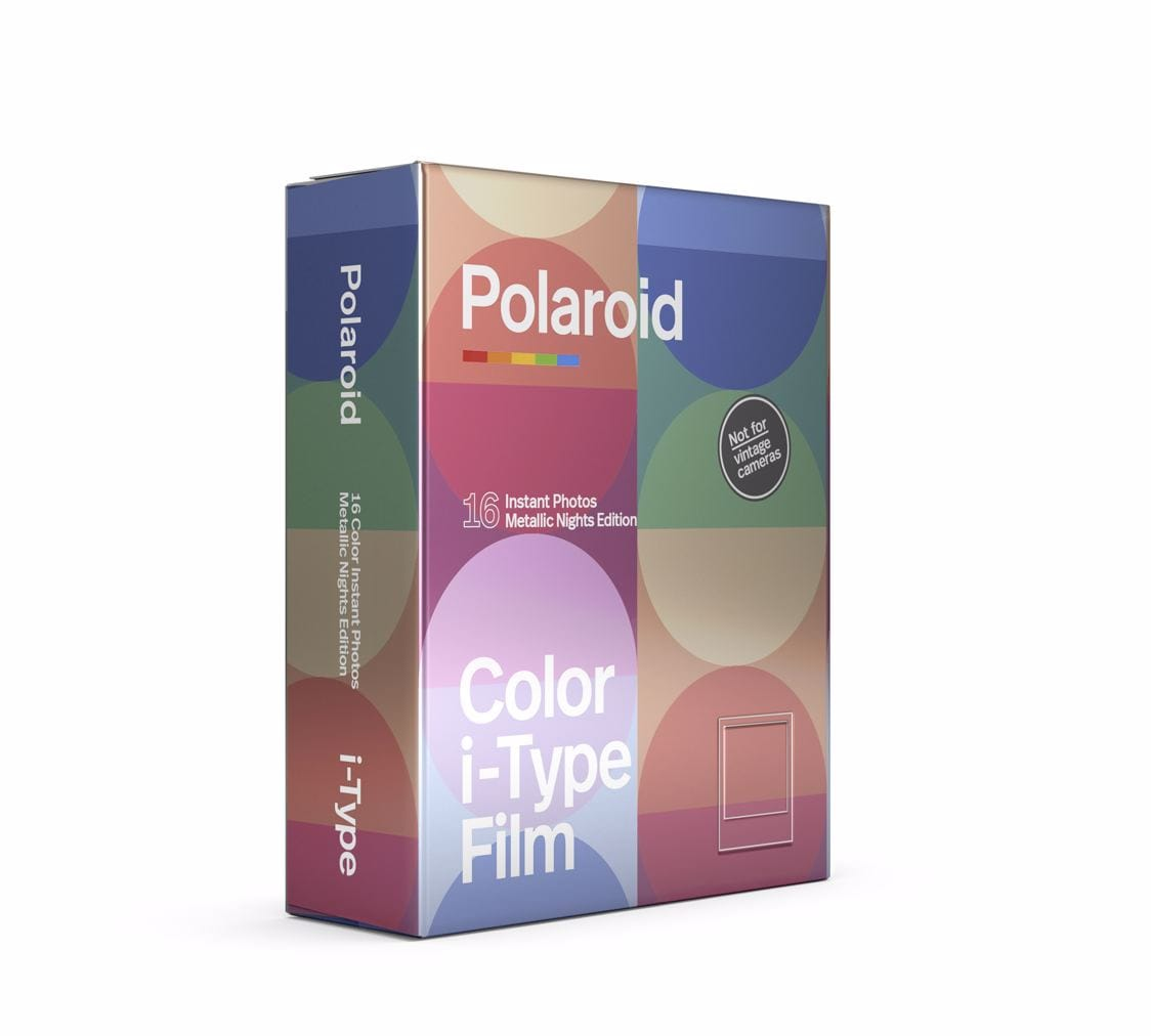 Polaroid I-Type Metallic Nights Färg 2-pack
