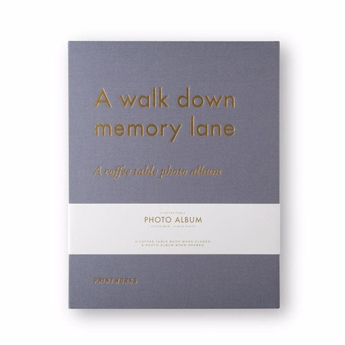 Printworks Fotoalbum Walk Down Memory Lane Large