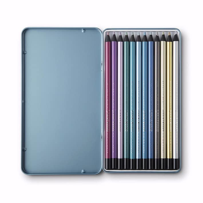Printworks Färgpennor Metallic 12-pack