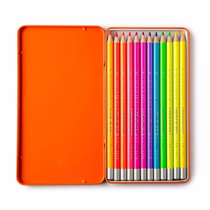Printworks Färgpennor Neon 12-pack