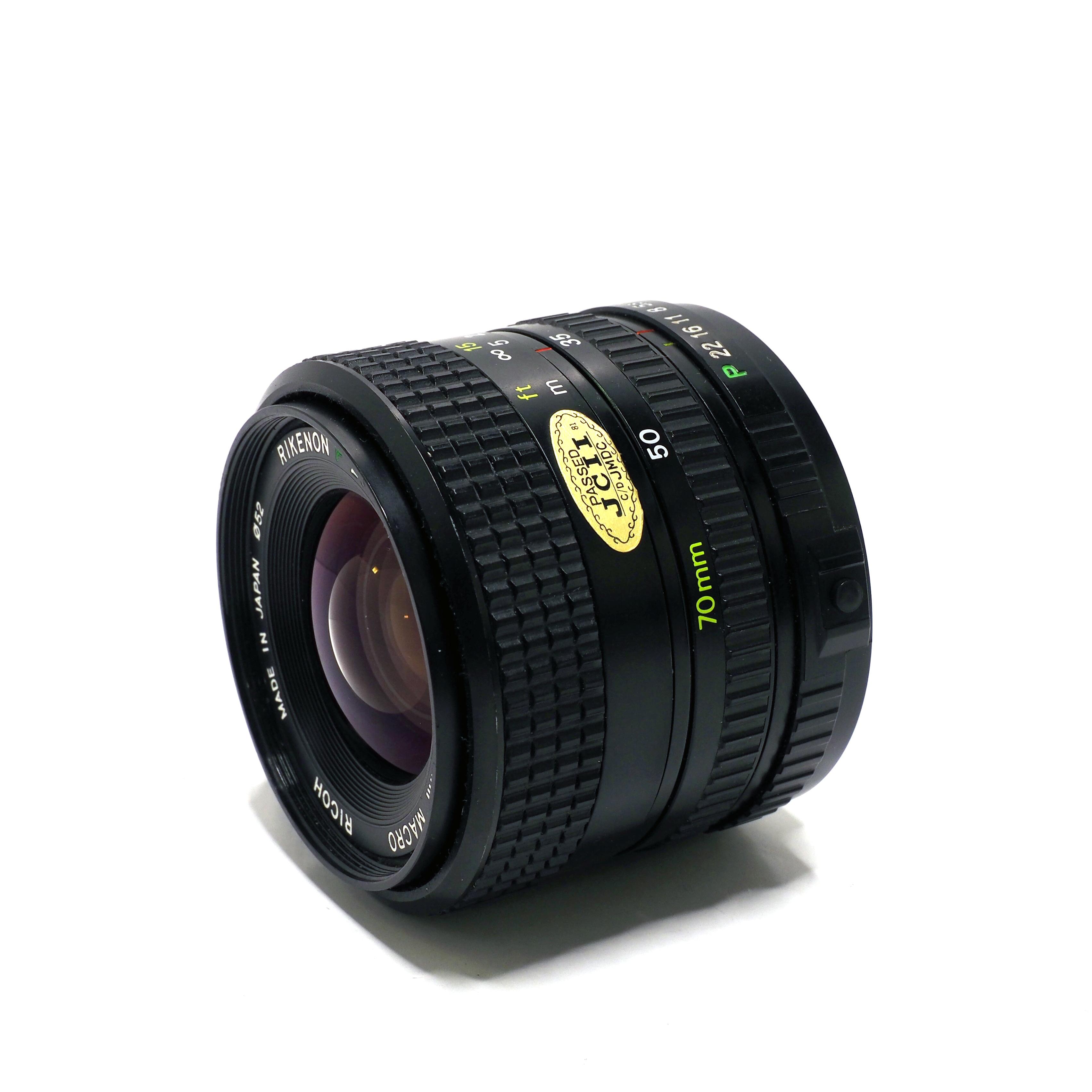 Ricoh Rikenon P 35-70mm f/3,4-4,5 för Pentax - BEGAGNAT