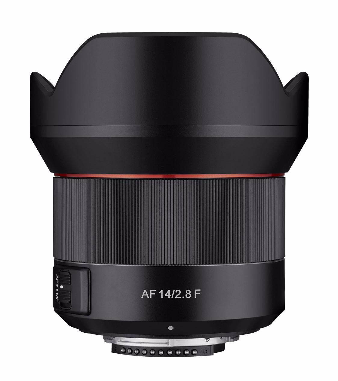 Samyang AF 14 MM F2,8 Nikon F