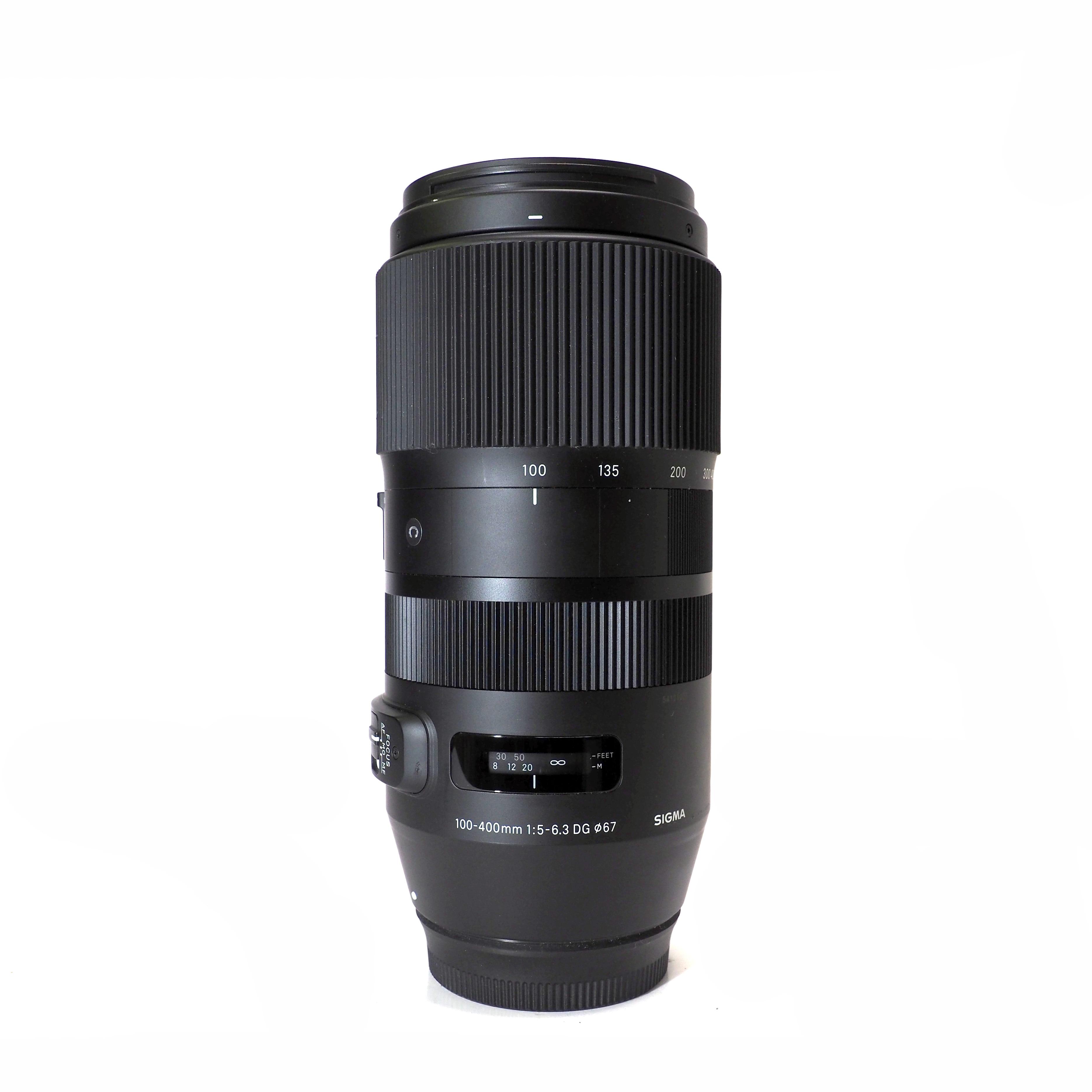 Sigma 100-400mm f/5-6.3 Contemporary för Canon- BEGAGNAT