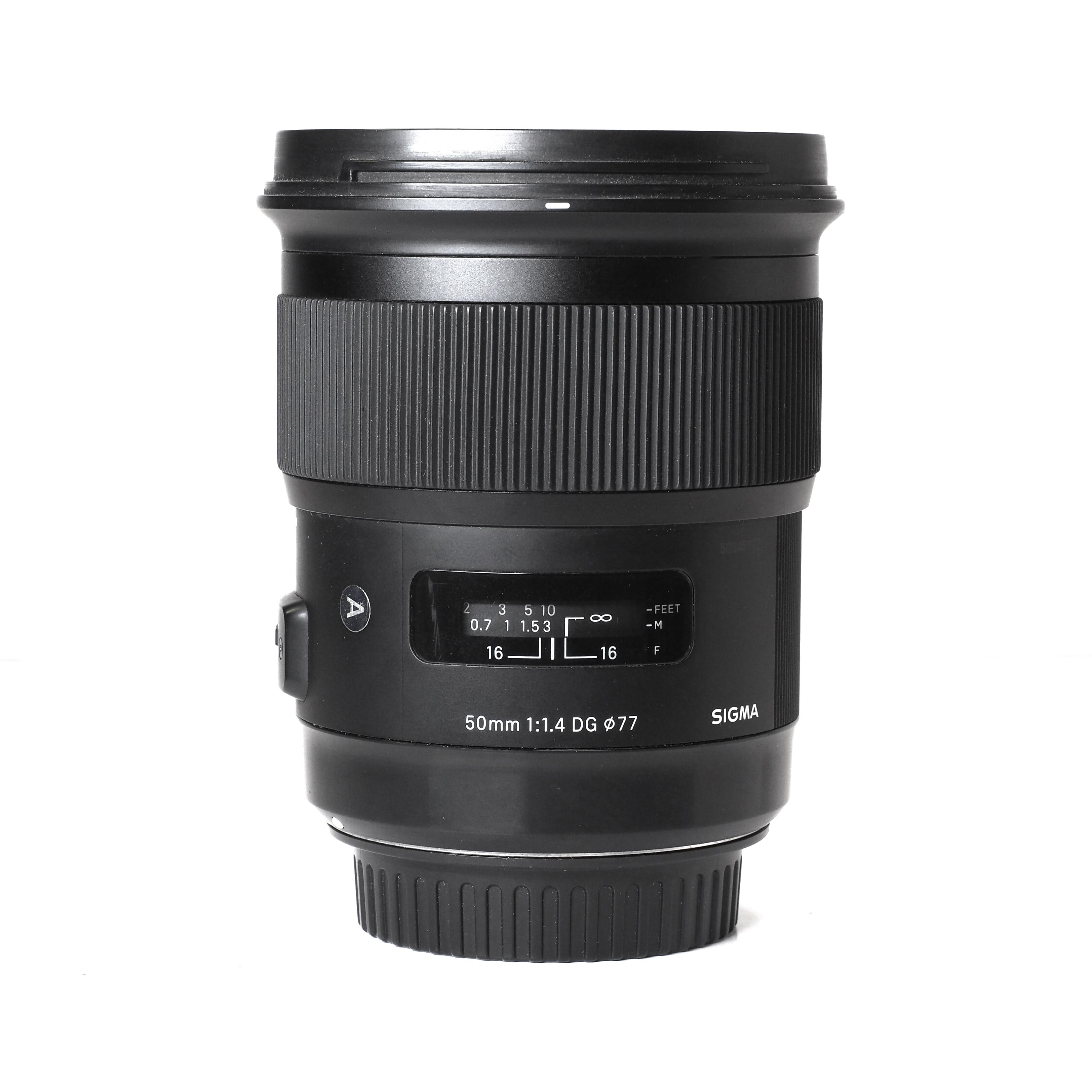 Sigma 50mm f/1,4 DG HSM Art Canon EF - BEGAGNAT
