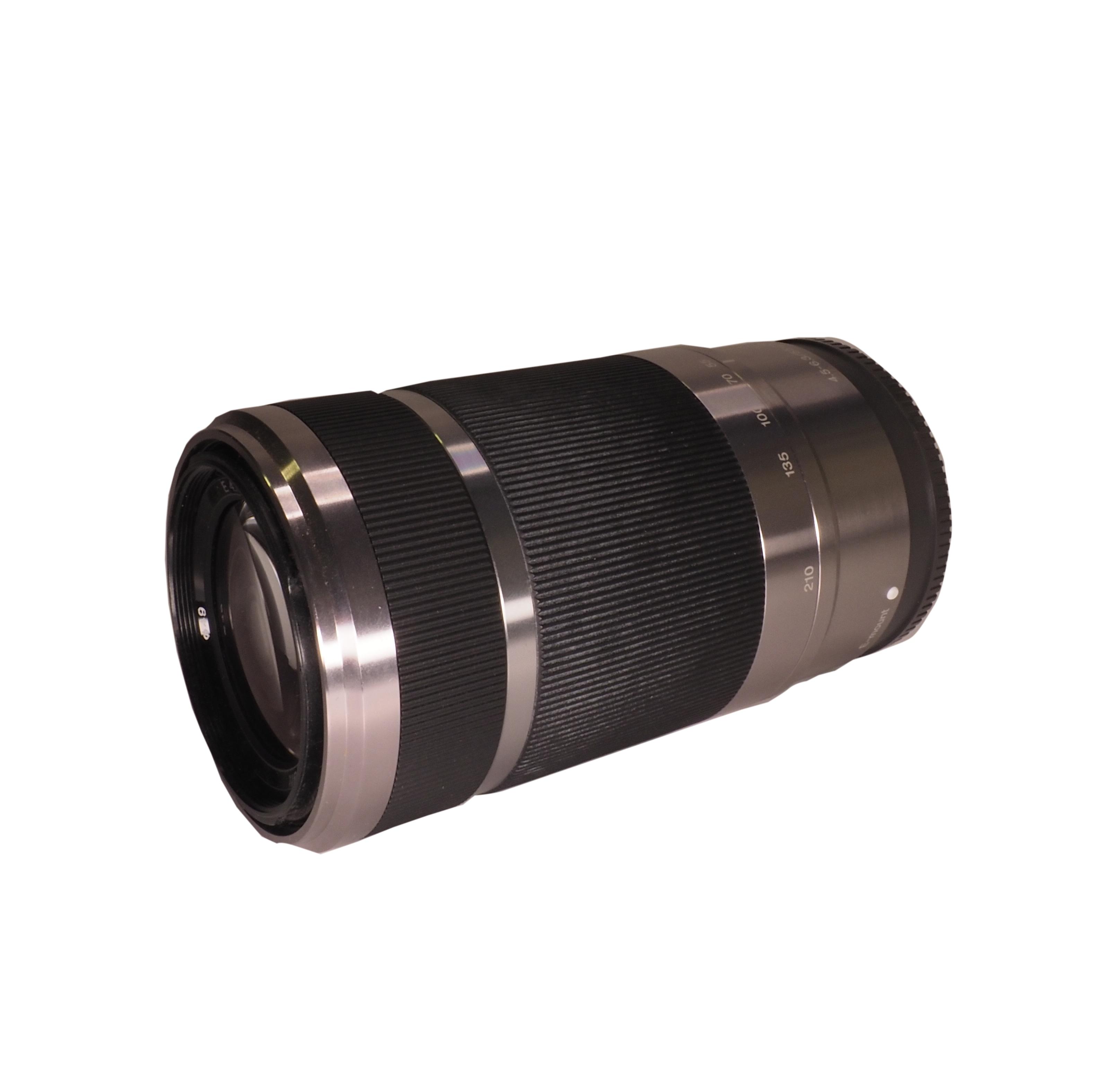 Sony 55-210mm f/4,5-6,3 OSS silver - BEGAGNAT