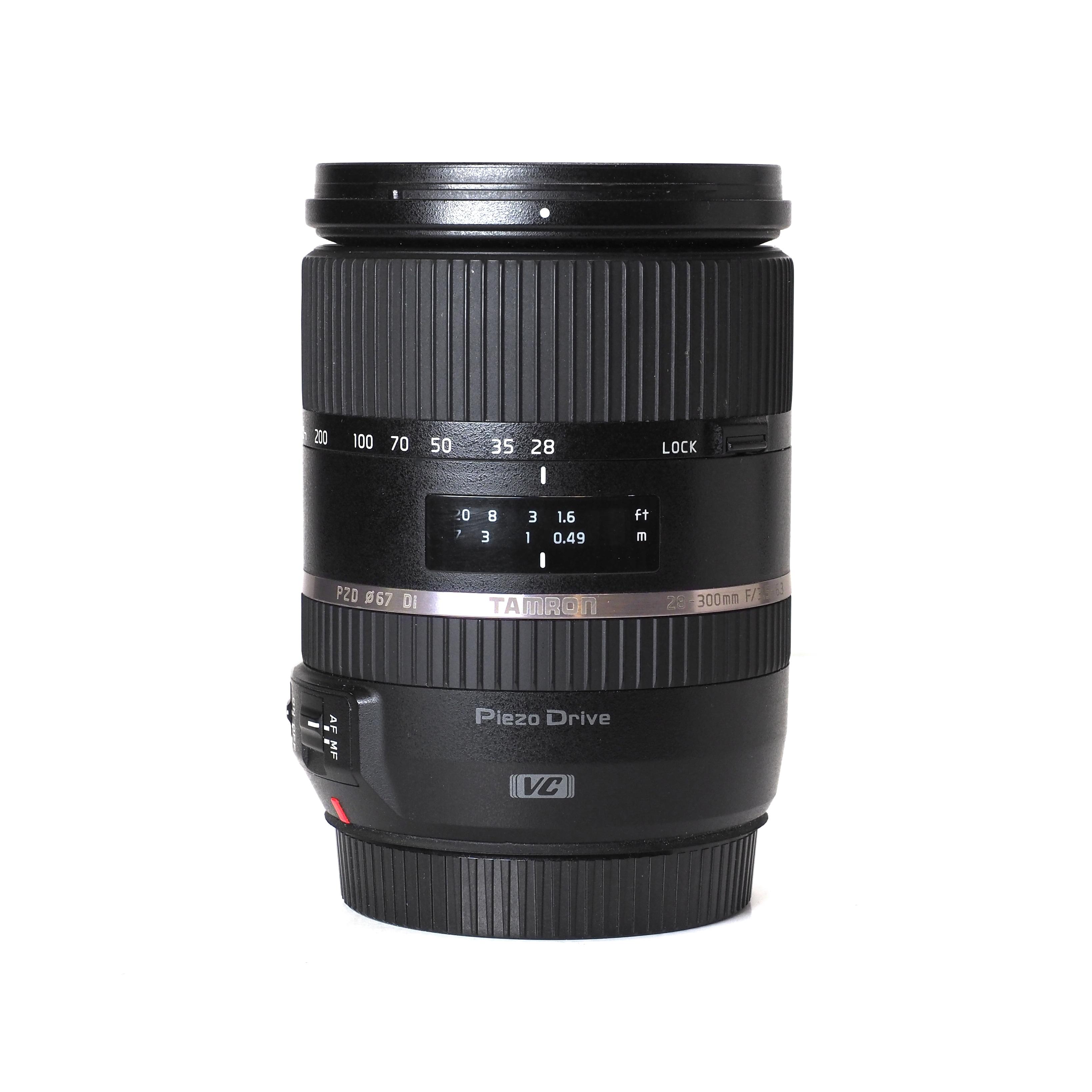 Tamron 28-300mm f/3,5-6,3 Di VC Canon EF - BEGAGNAT