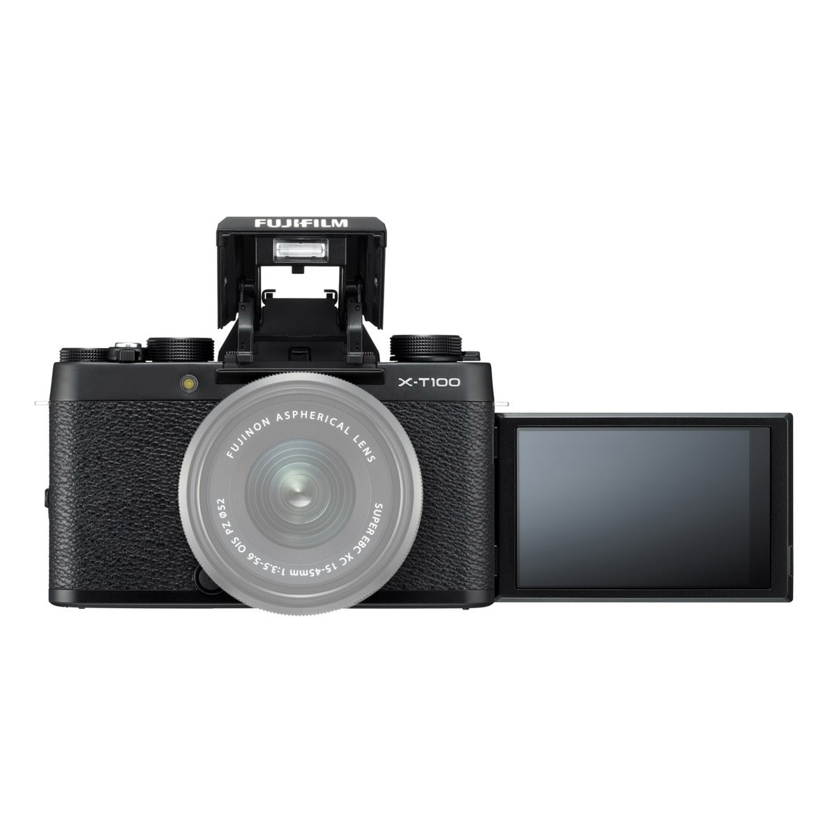 Fujifilm X-T100 Hus Svart
