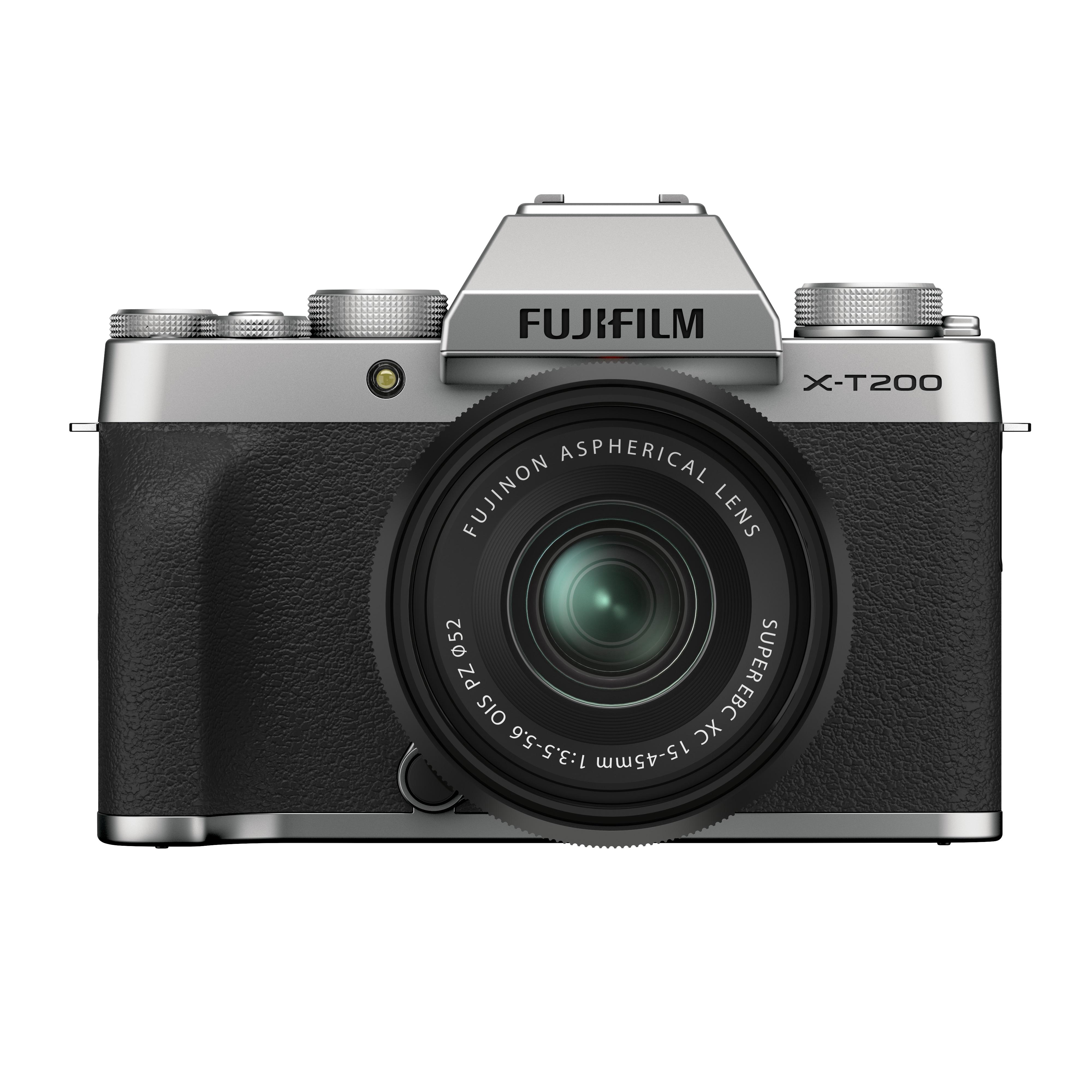 Fujifilm X-T200 Silver + XC 15-45mm f/3.5-5.6