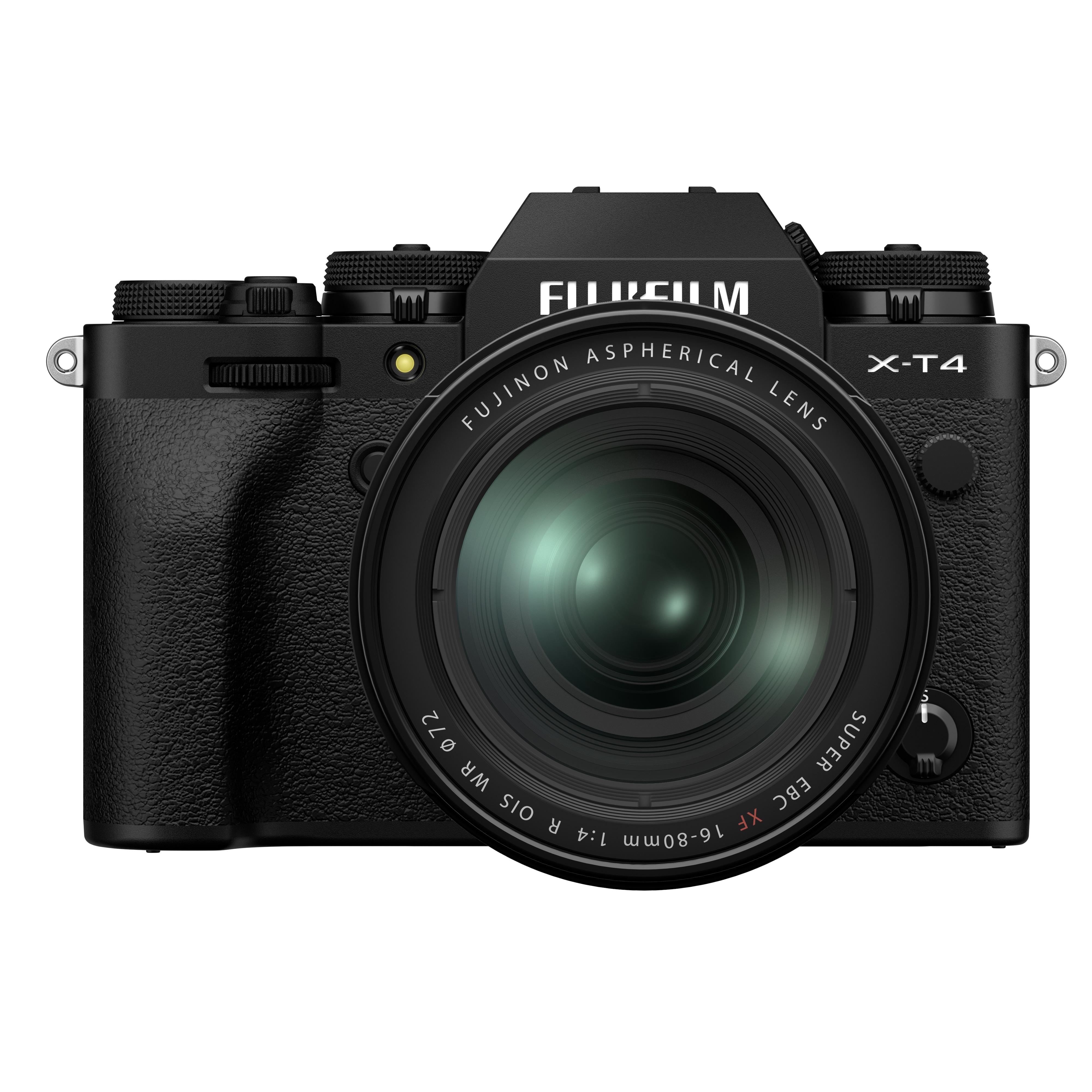 Fujifilm X-T4 + 16-80mm f/4 Svart