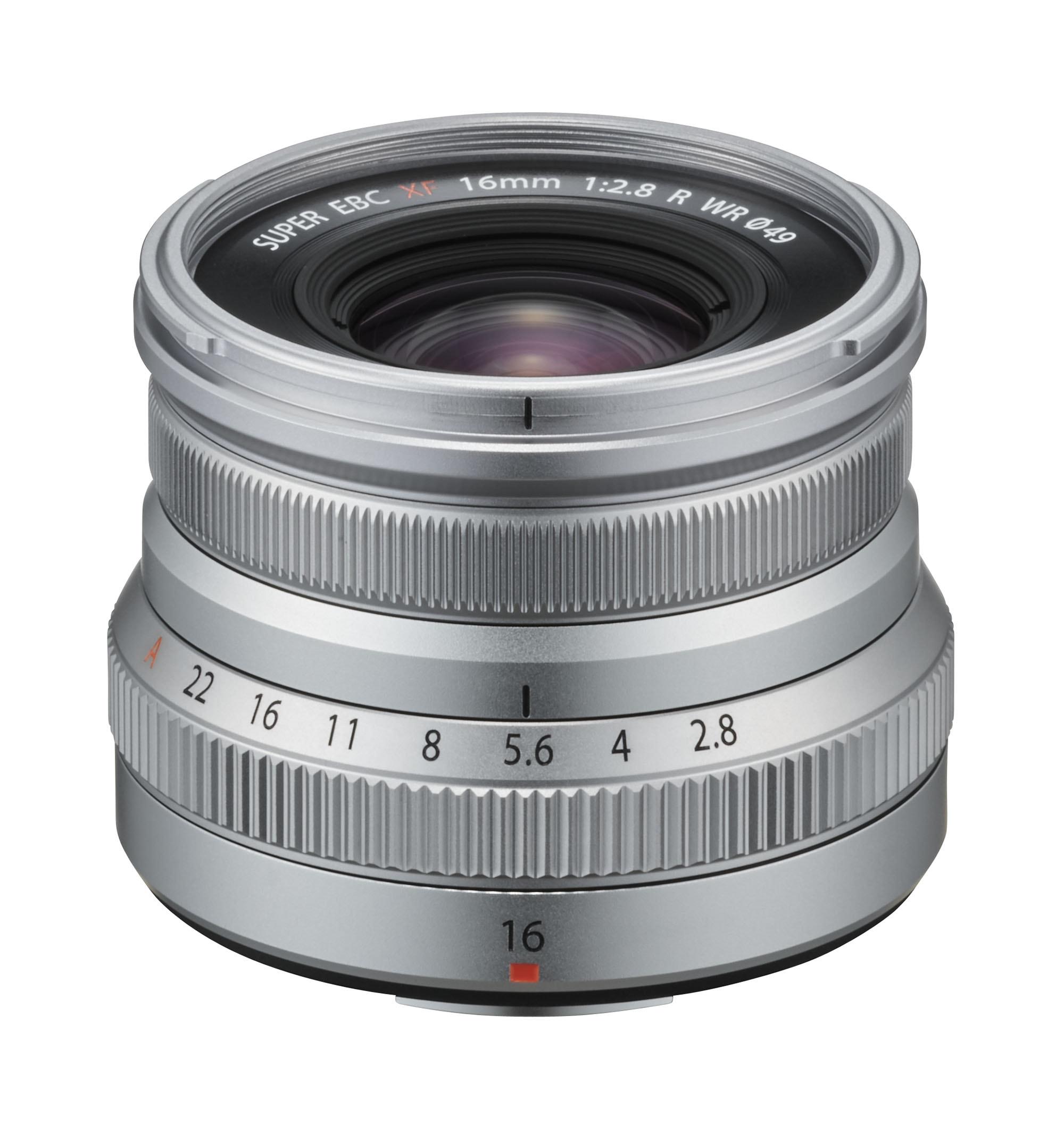 Fujifilm XF 16mm f/2,8 WR Silver