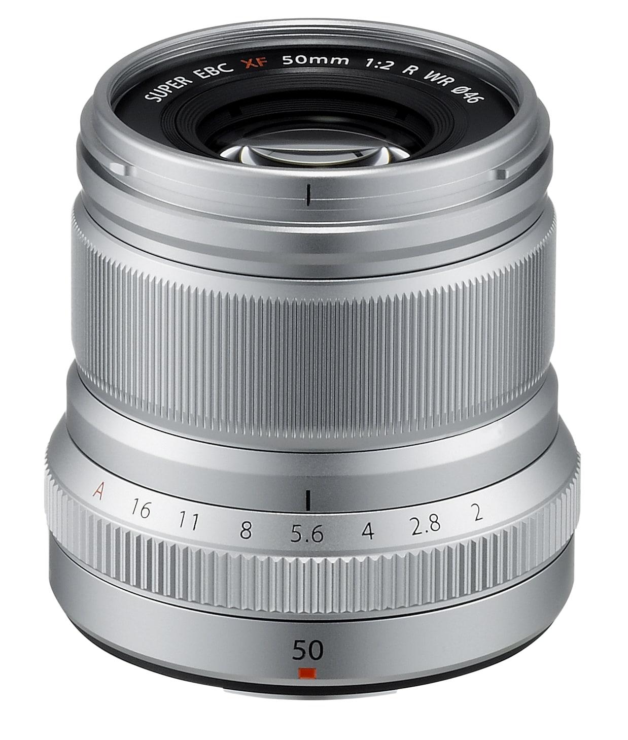 Fujifilm Fujinon XF 50mm f/2,0 R WR Silver
