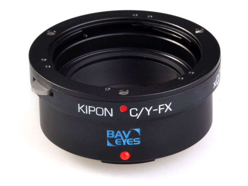 Kipon Adapter För Fuji X Body BAVEYES C/Y-FX 0.7X