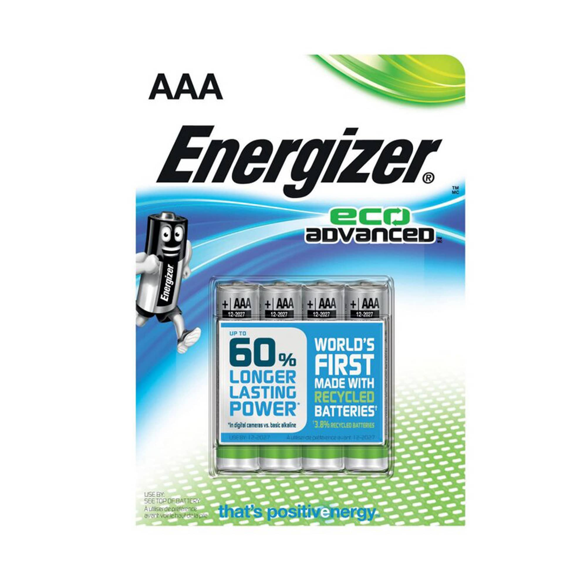 Energizer AAA Eco Advanced 4-PACK