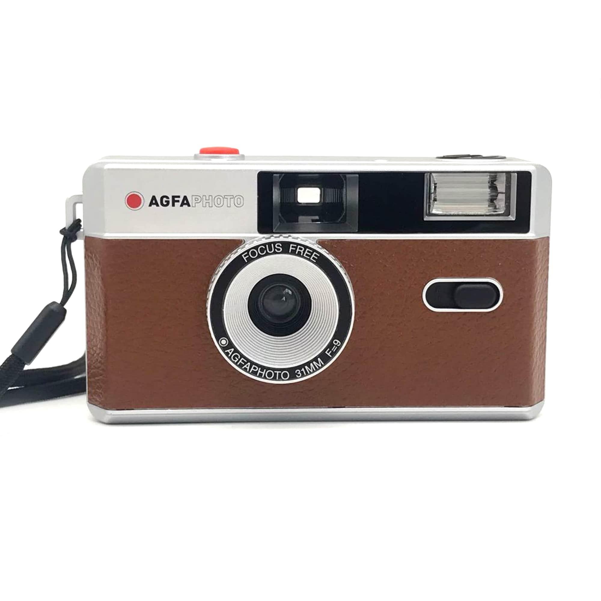 Agfaphoto Analog Kamera 35mm Brun