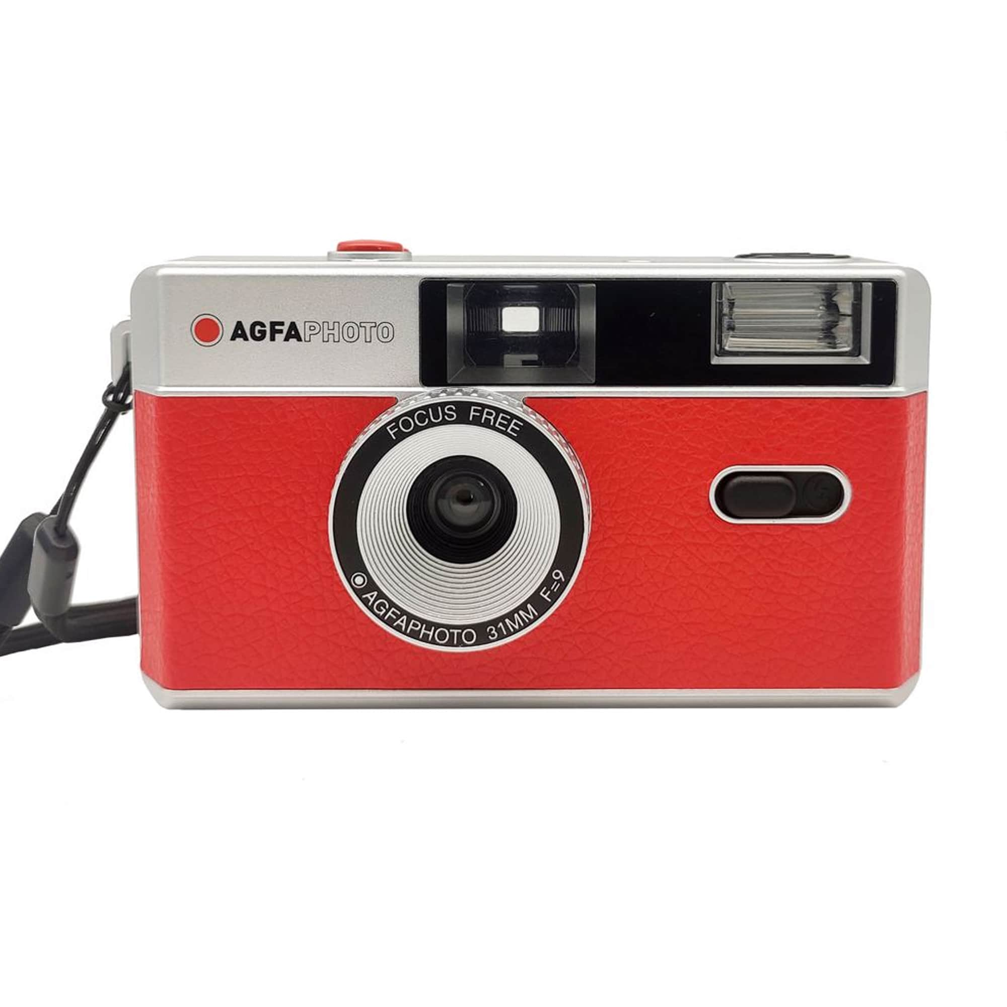 Agfaphoto Analog kamera 35mm Röd