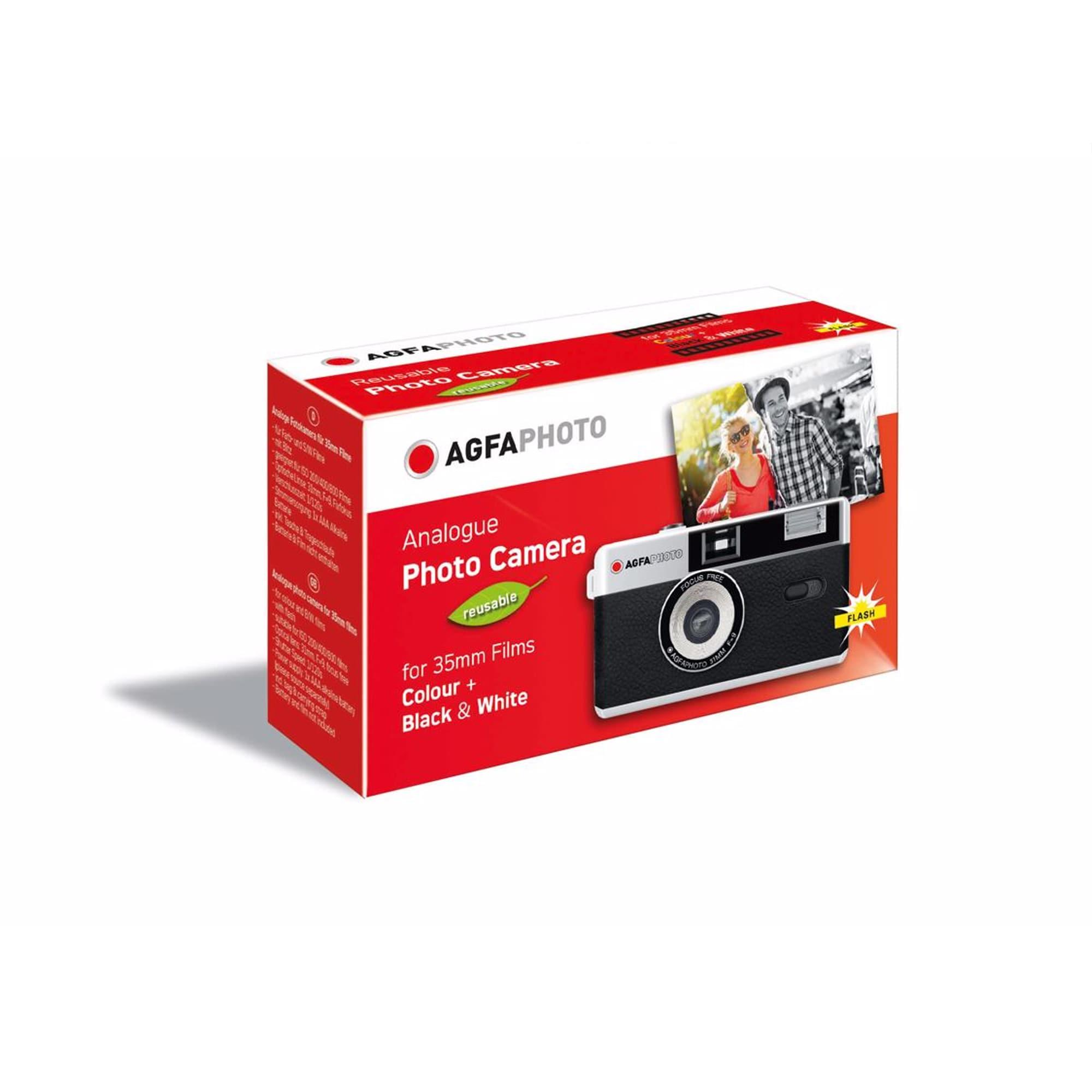 Agfaphoto Analog Kamera 35mm Svart