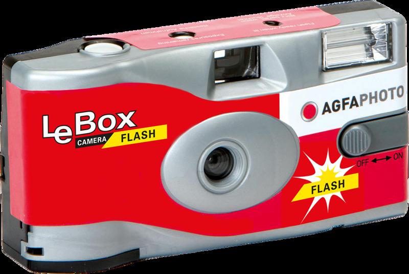 AGFAPHOTO LeBox 400 + Blixt 27 Bilder 1st