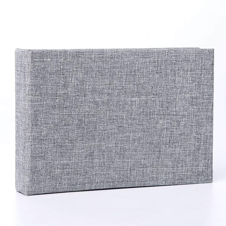 Base Line Canvas Minialbum 10x15 Grå