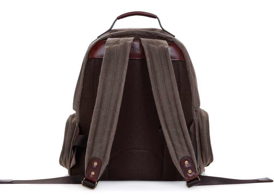 ONA Bags Bolton Dark Tan