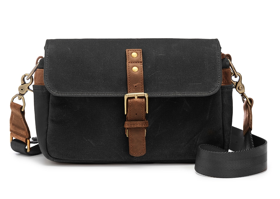 Ona Bags Bond street Black Leather