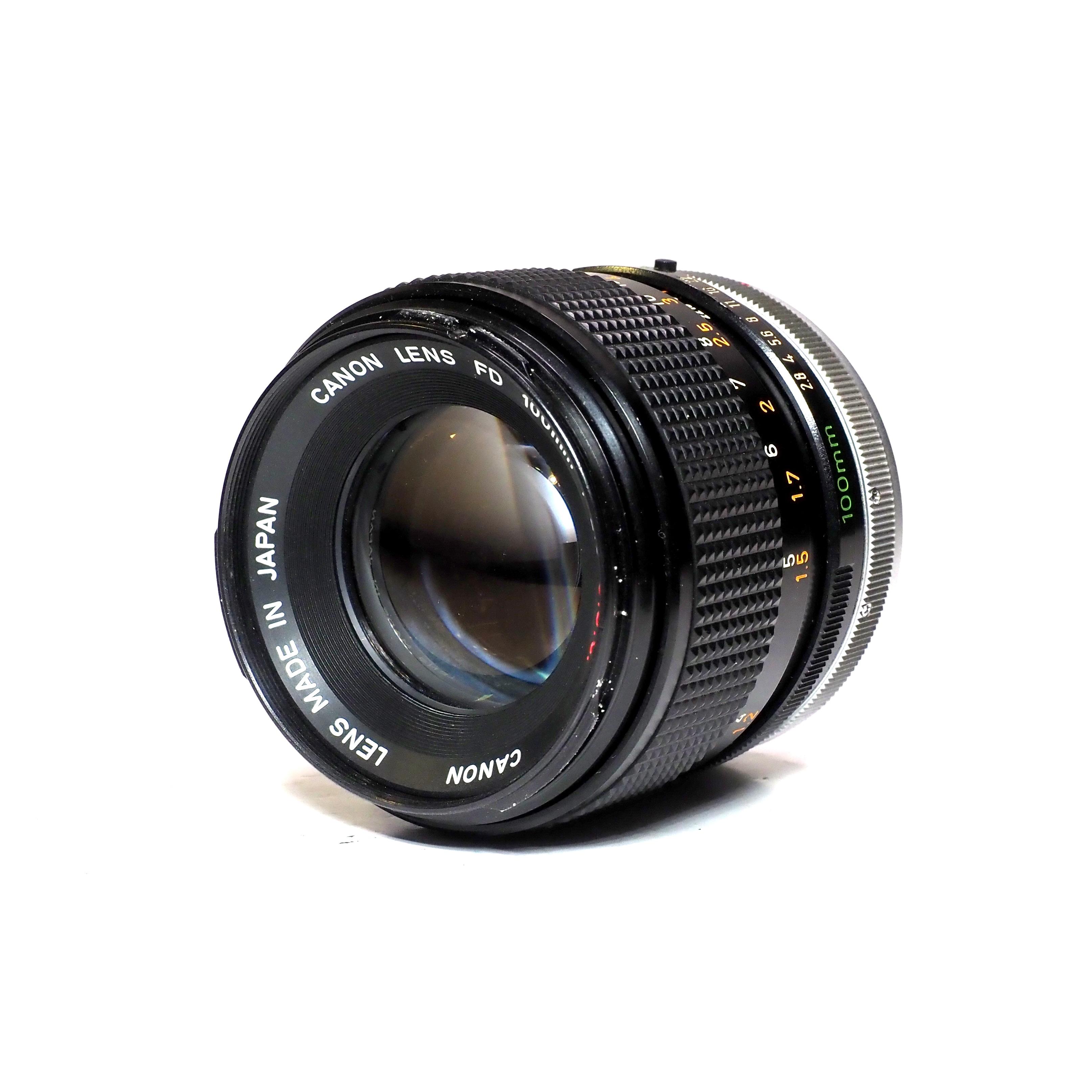 Canon FD 100mm f/2,8 - BEGAGNAT