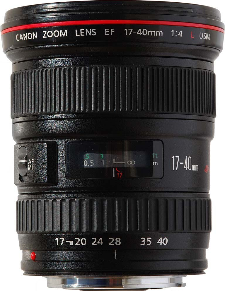 Canon EF 17-40mm f/4,0L USM