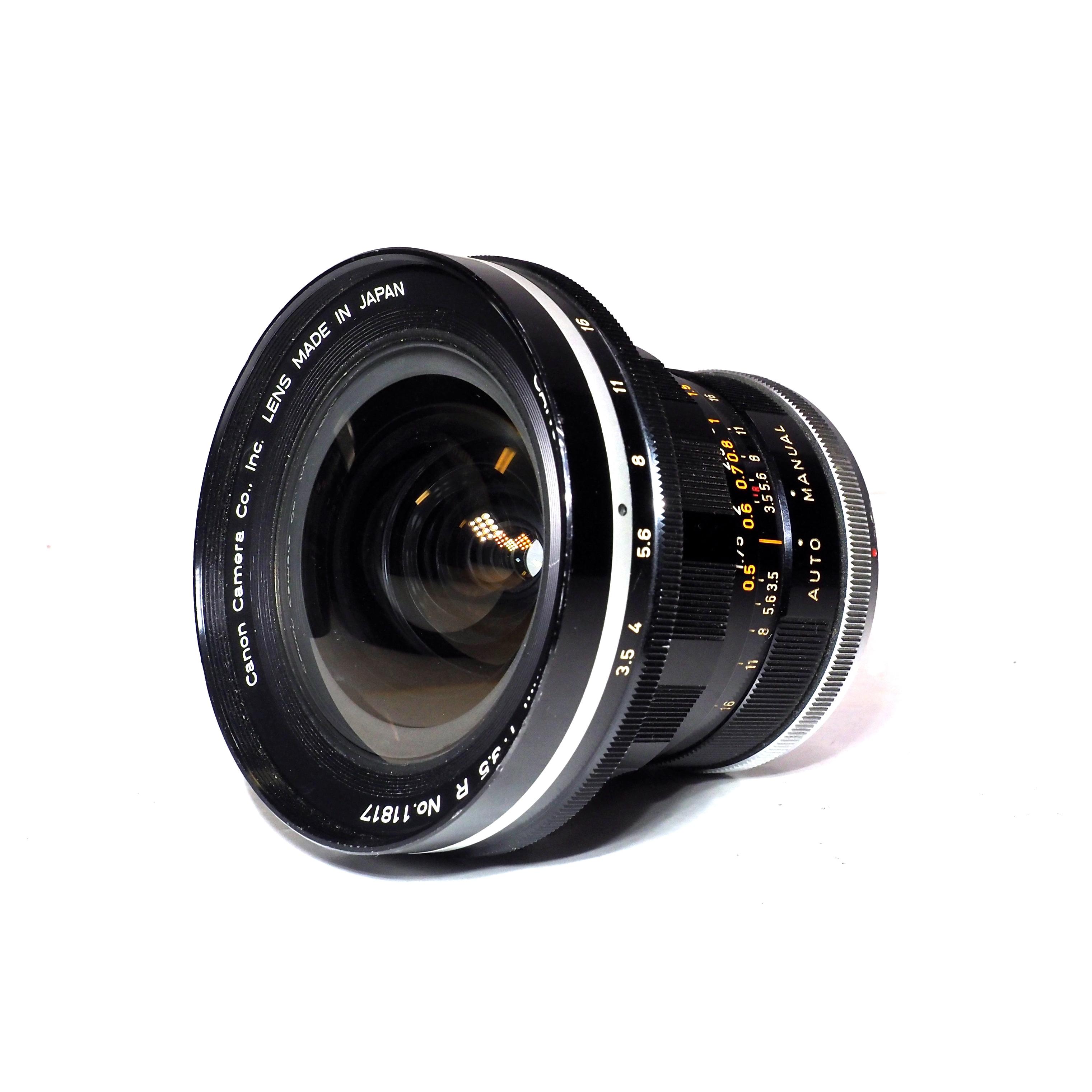 Canon FL 19mm f/3,5 R - BEGAGNAT