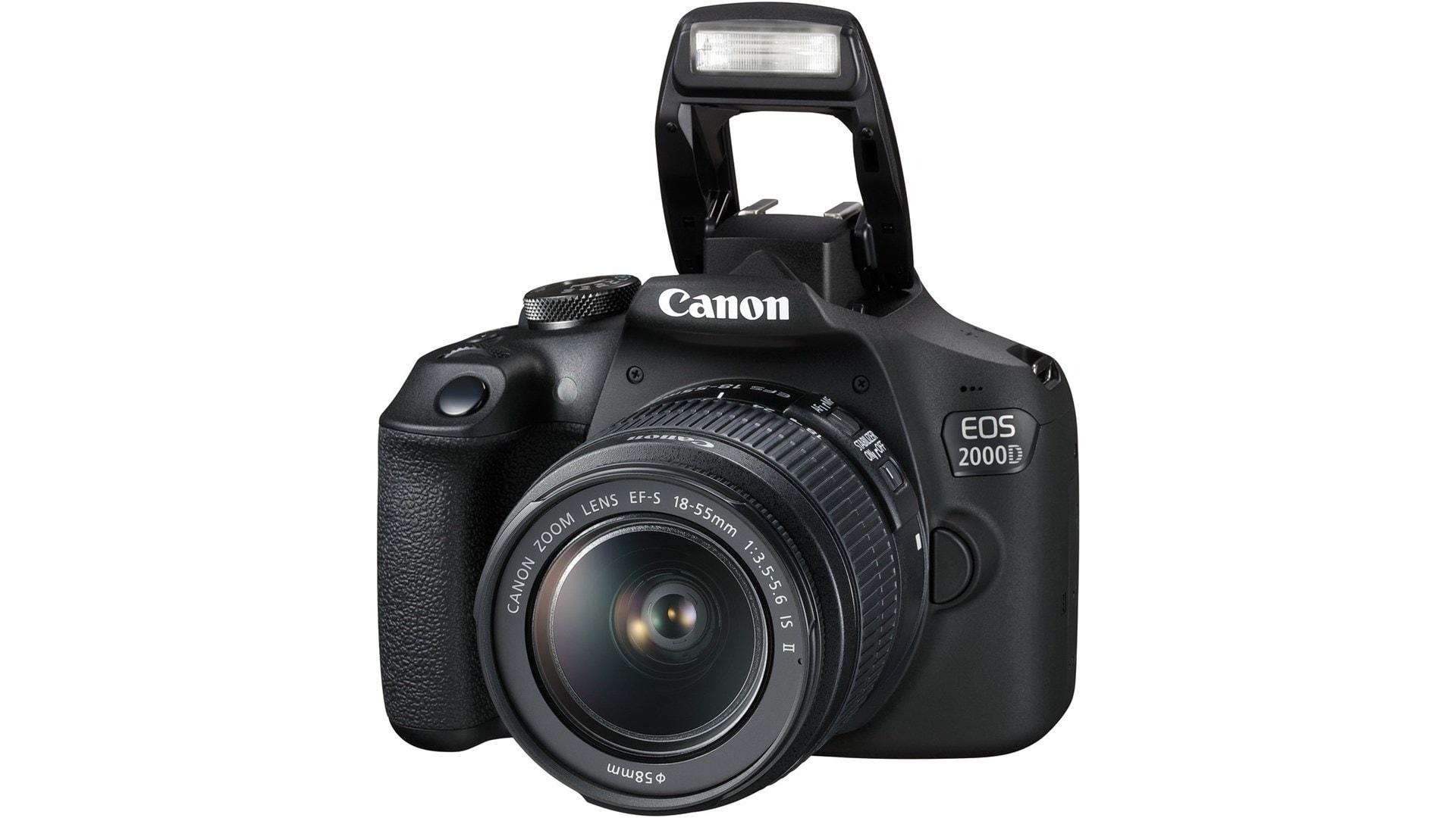 Canon 2000D + 18-55 IS II