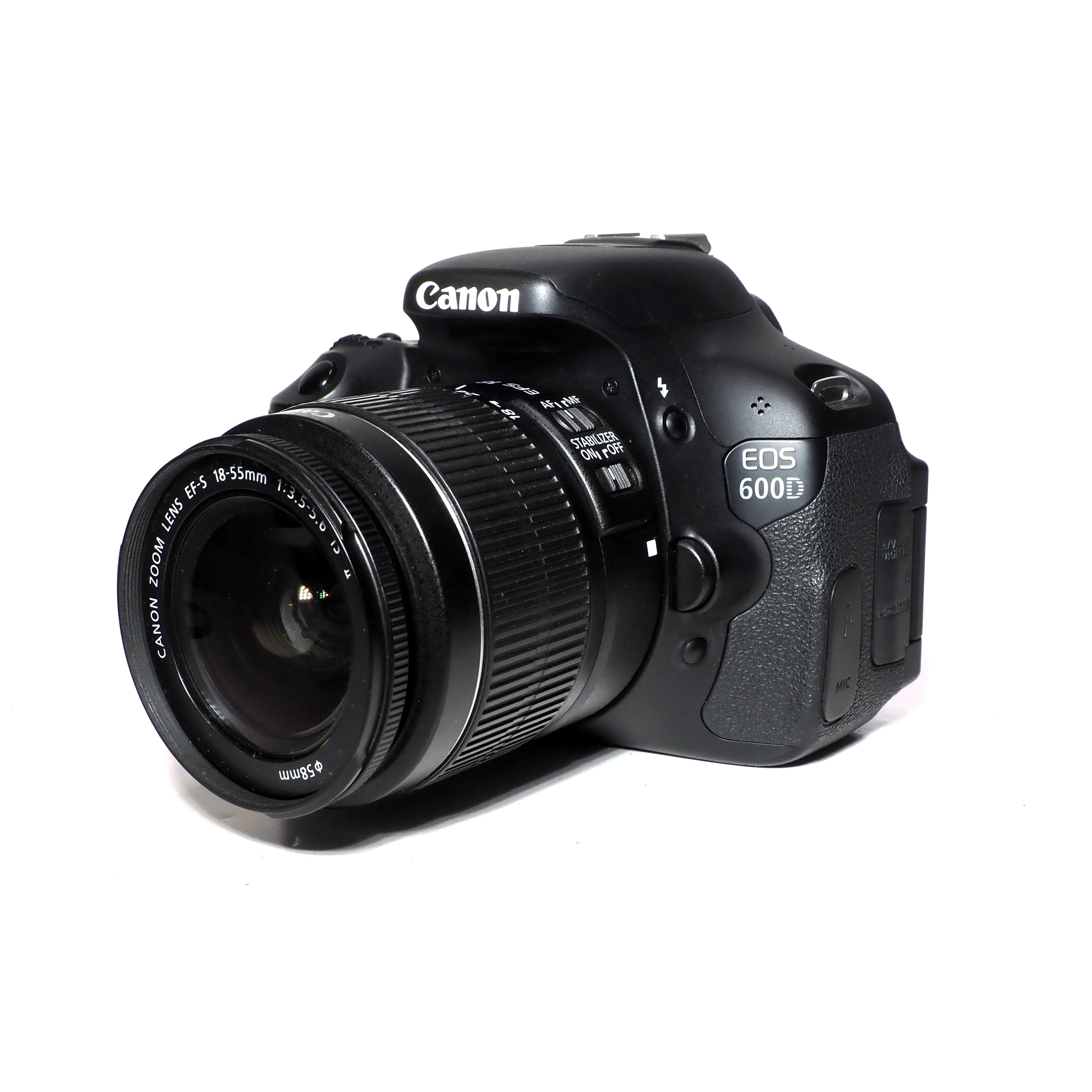 Canon 600D + 18-55mm f/3,5-5,6 IS II - BEGAGNAT