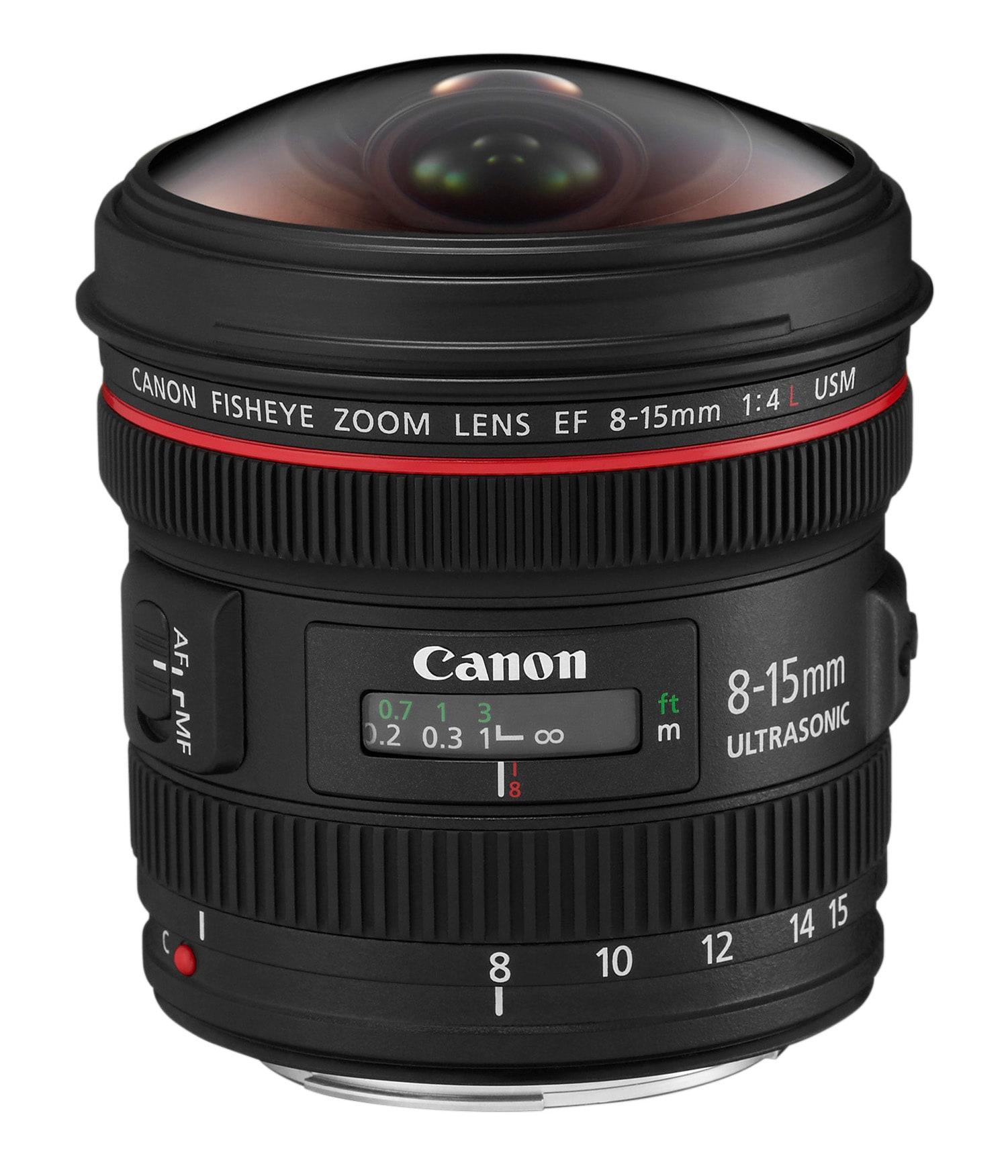 Canon Ef 8-15mm f/4,0L Usm Fisheye
