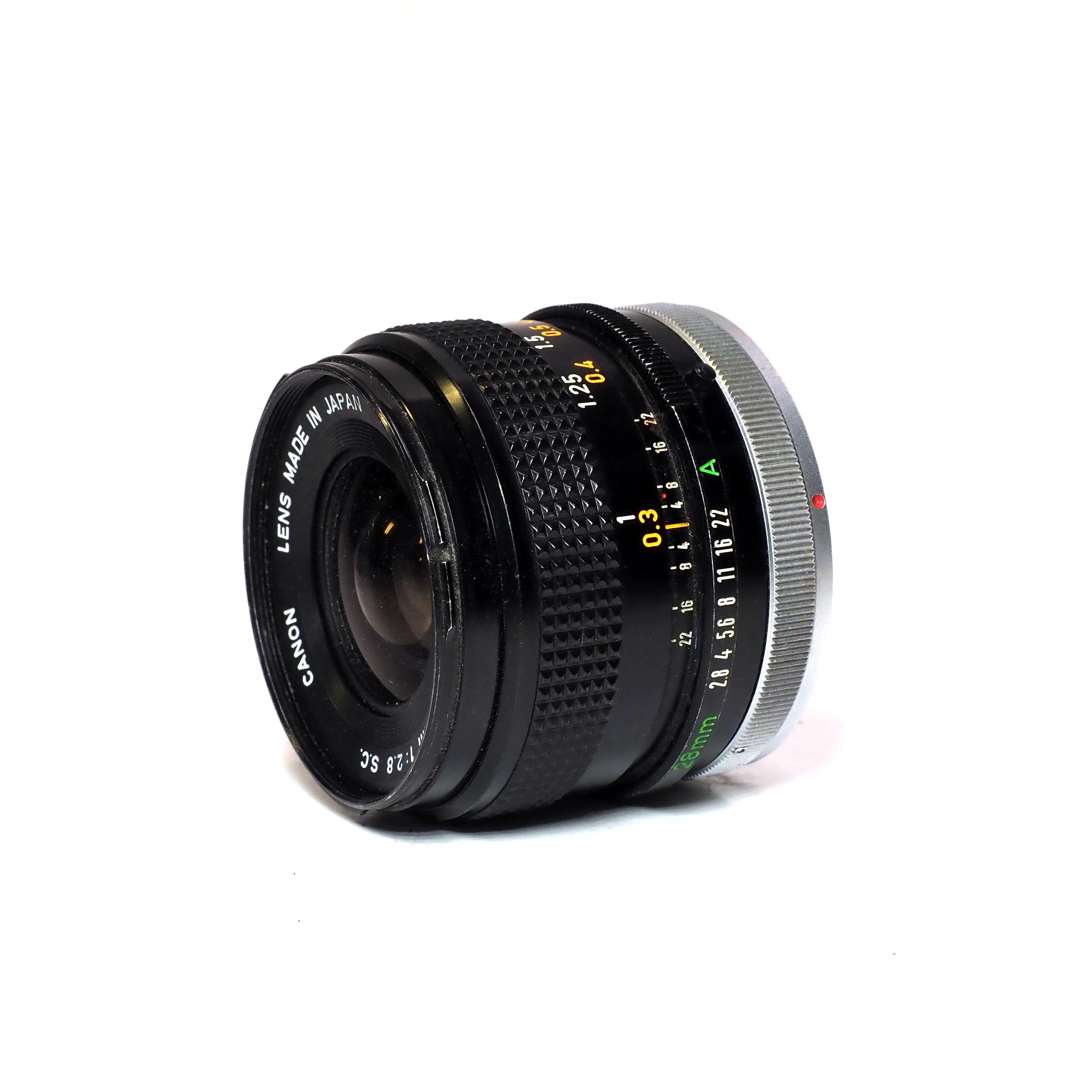Canon FD 28mm f/2,8 - BEGAGNAT