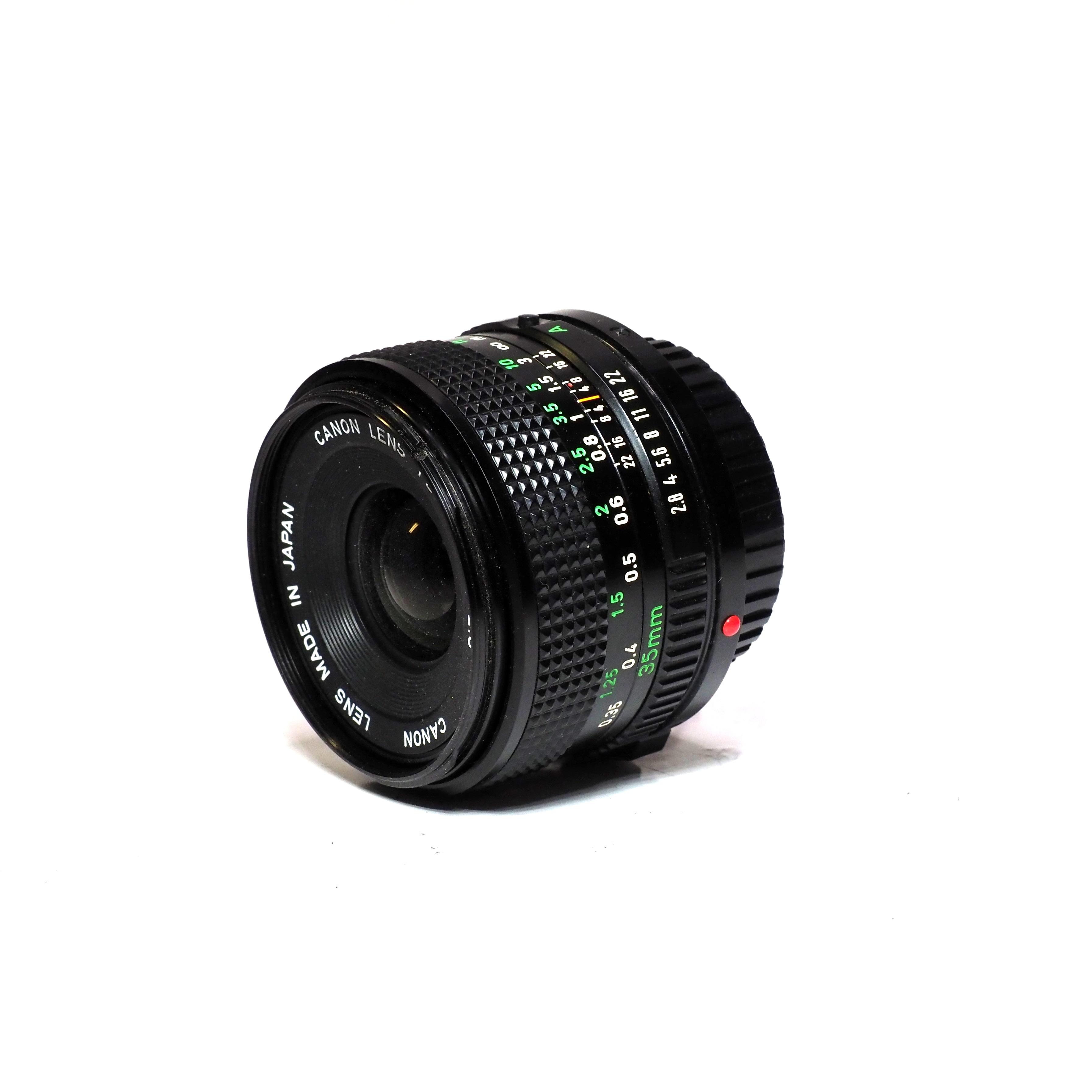 Canon FD 35mm f/2,8 - BEGAGNAT
