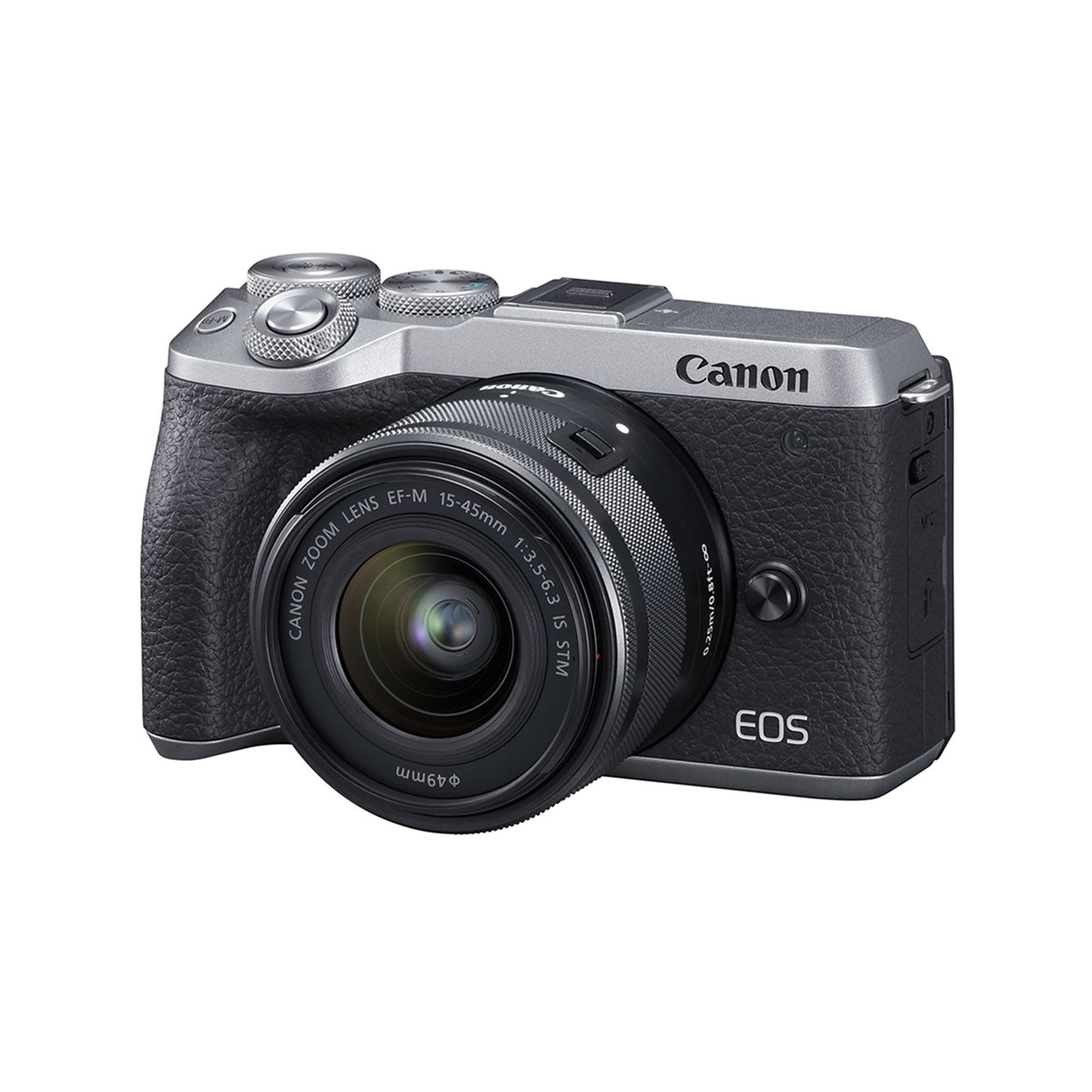 Canon EOS M6 Mark II + 15-45/3,5-6,3 IS STM