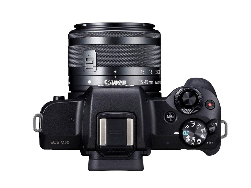 Canon EOS M50 + 15-45 Svart