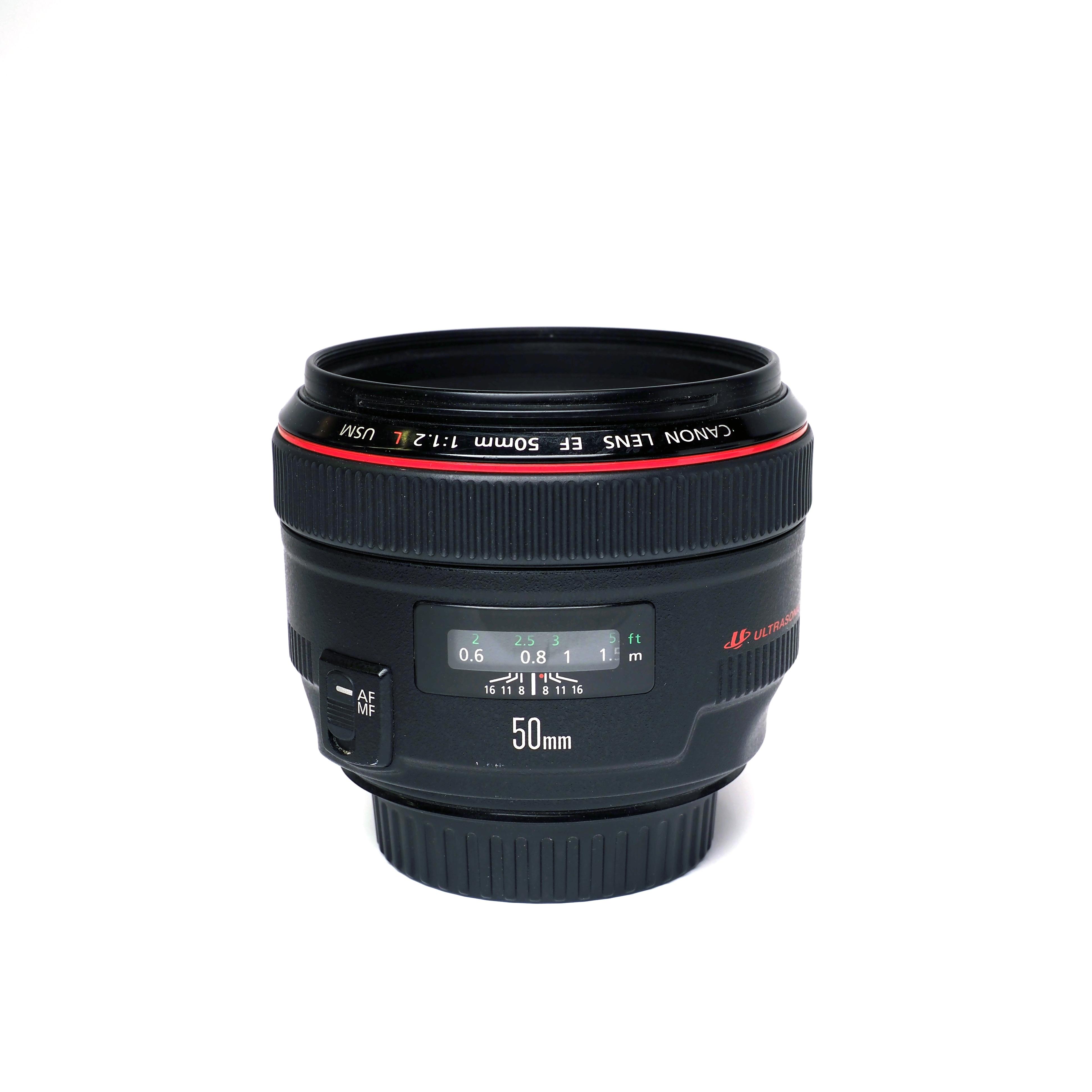 Canon EF 50mm f/1.2 L USM - BEGAGNAT