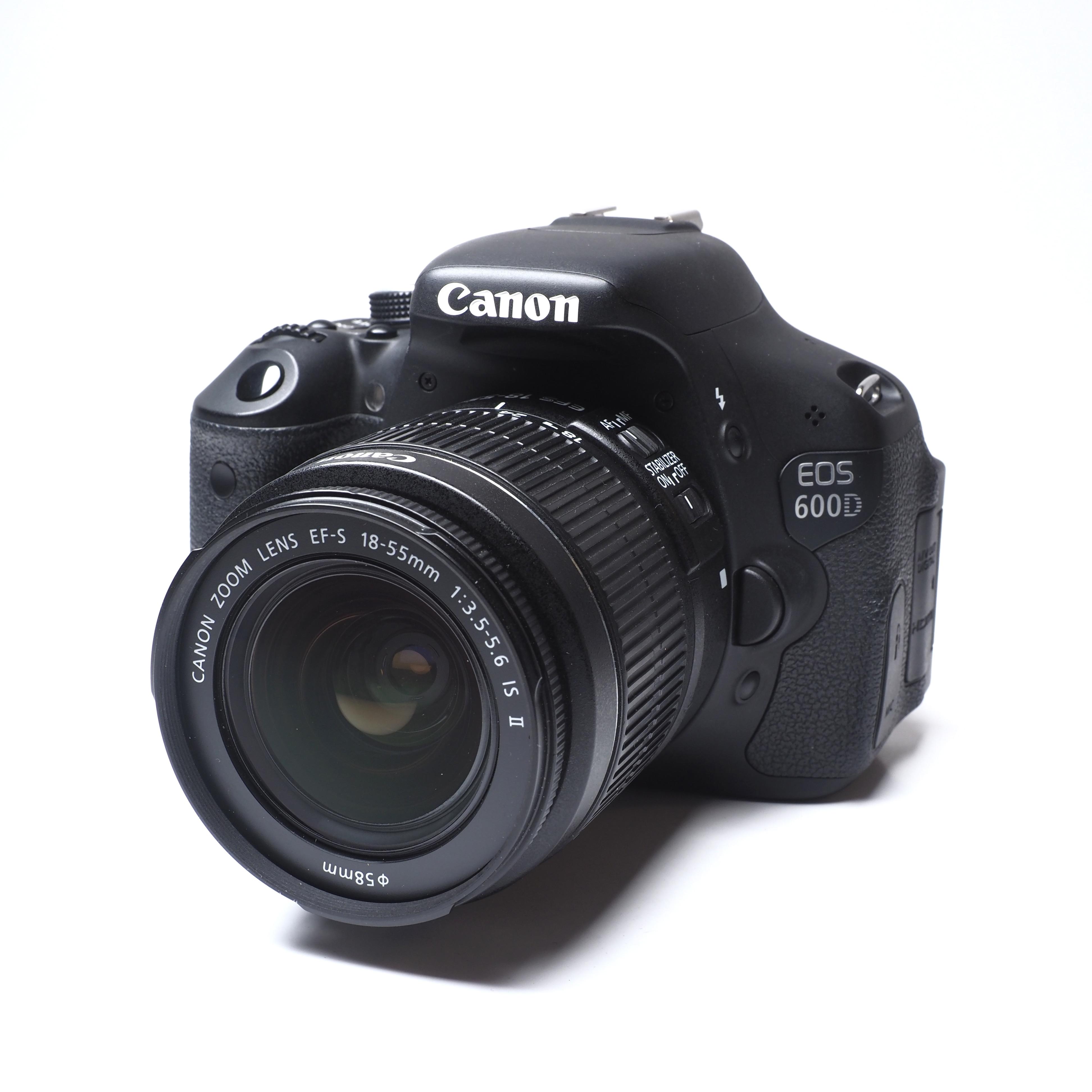 Canon 600D + 18-55mm BEGAGNAT