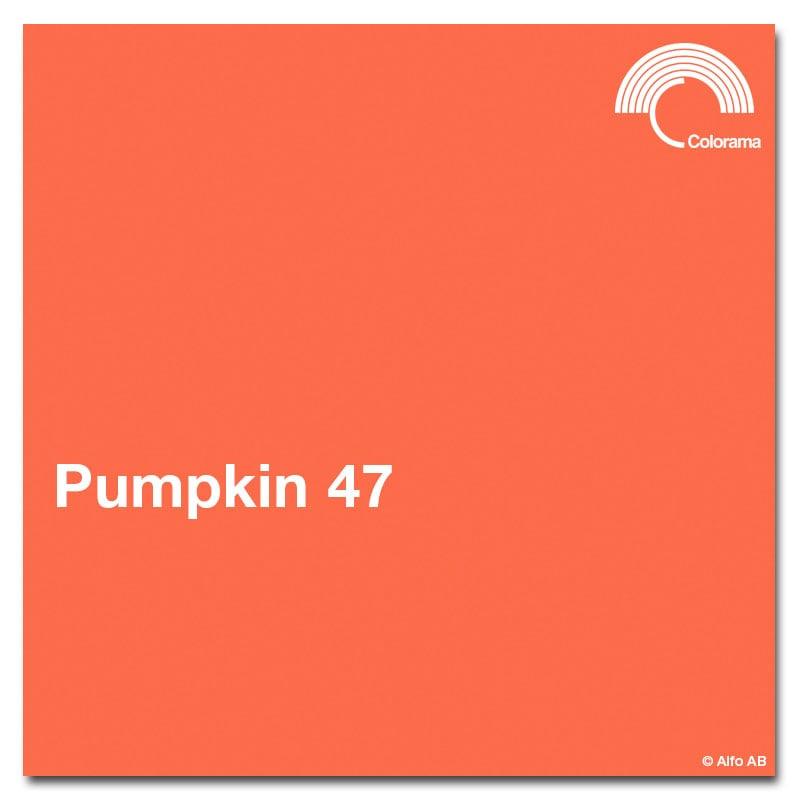 Colorama Bakgrund papper 2,72m Pumpkin