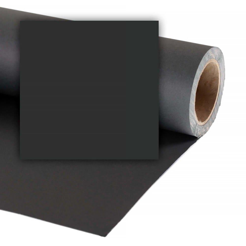 Colorama Bakgrundspapper 3.55 X 30M BLACK